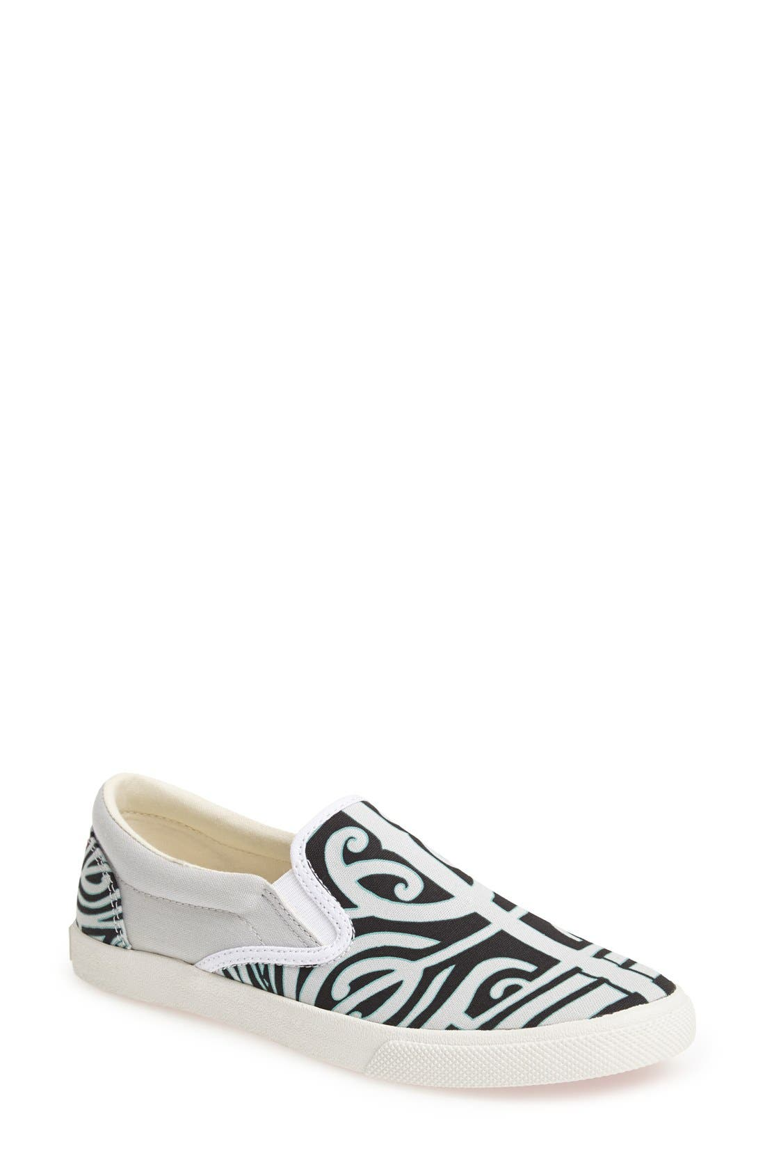 Main Image - BucketFeet 'Tatau' Slip-On Canvas Sneaker (Women)