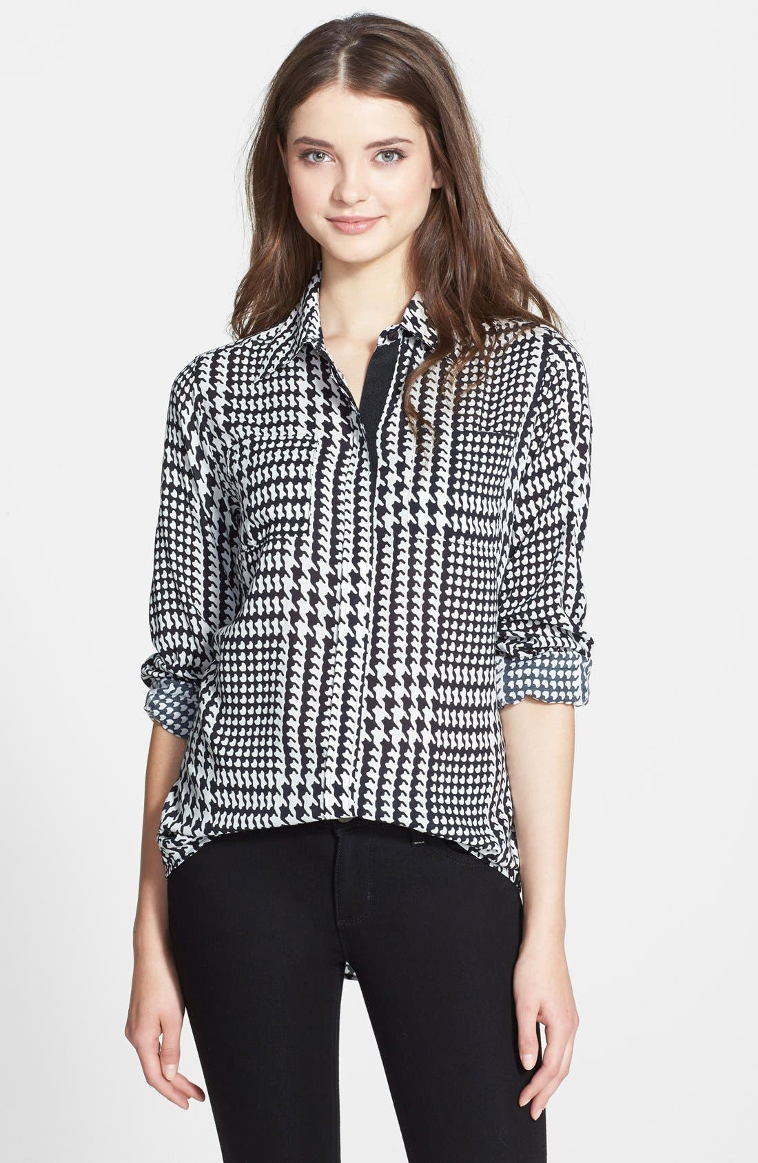 Alternate Image 1 Selected - Foxcroft Glen Plaid Shirt (Regular & Petite)