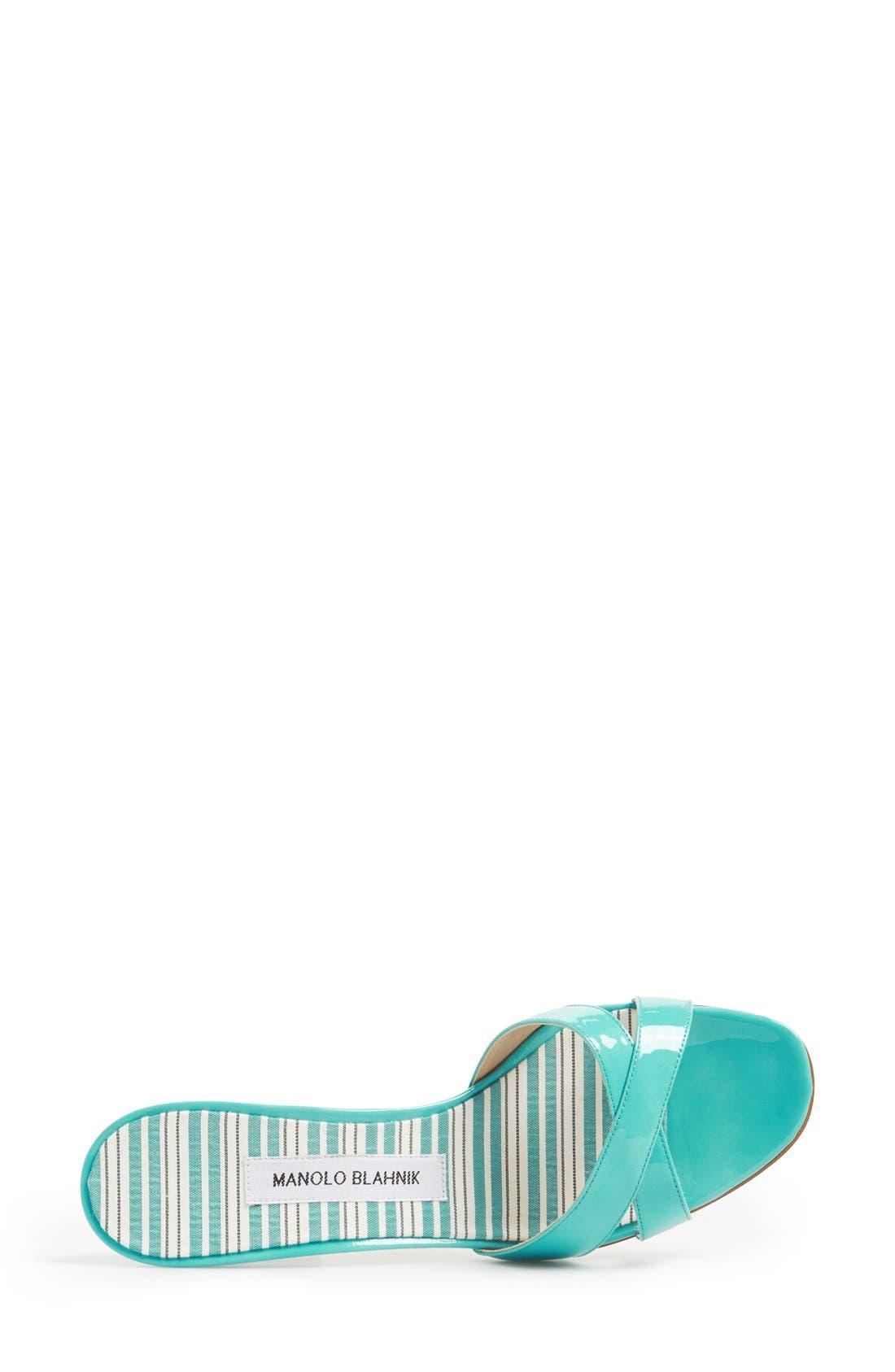 Alternate Image 4  - Manolo Blahnik 'Callamu' Slide Sandal (Women)