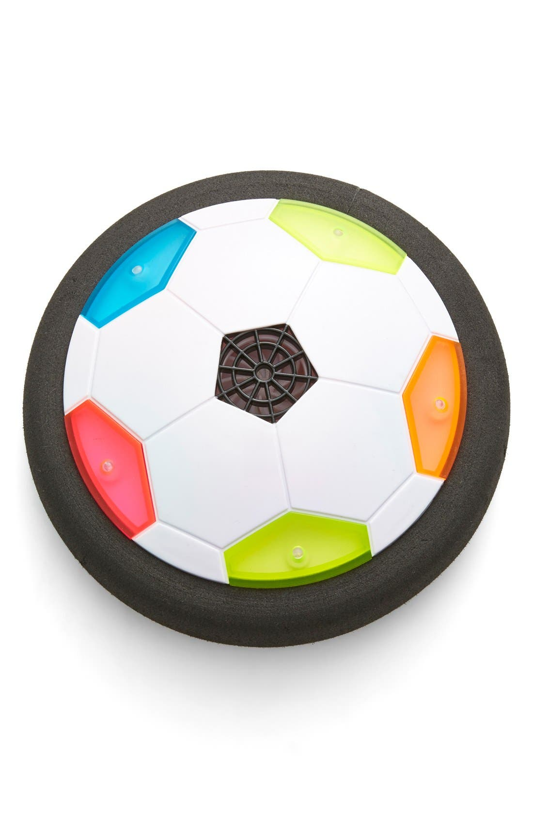 Alternate Image 1 Selected - Can You Imagine UltraGlow Light-Up Air Power Soccer Disk