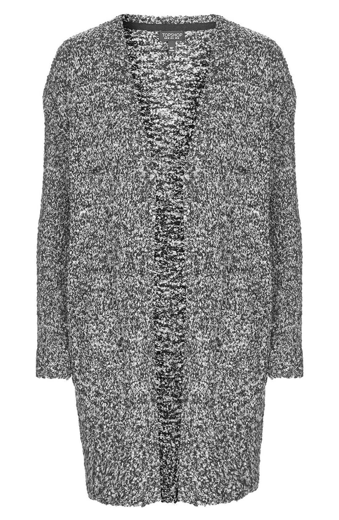 Alternate Image 3  - Topshop Slouchy Cardigan