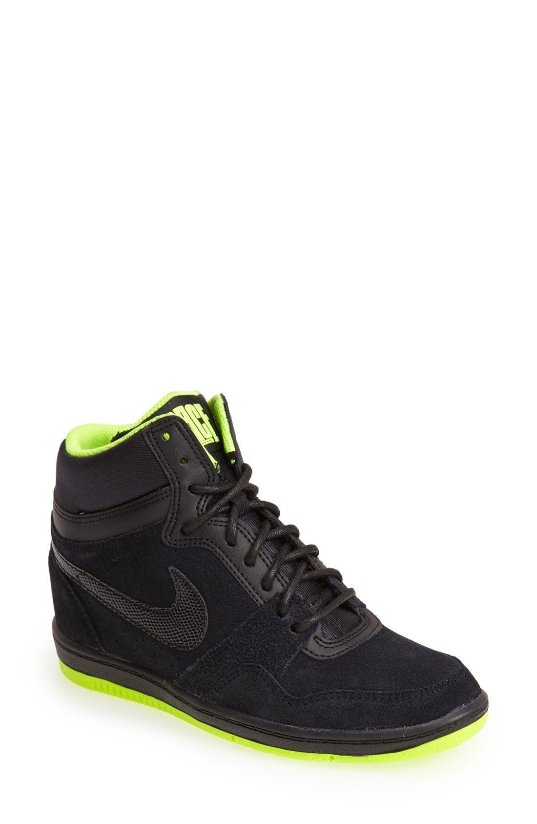 Alternate Image 1 Selected - Nike 'Force Sky High' Sneaker (Women)