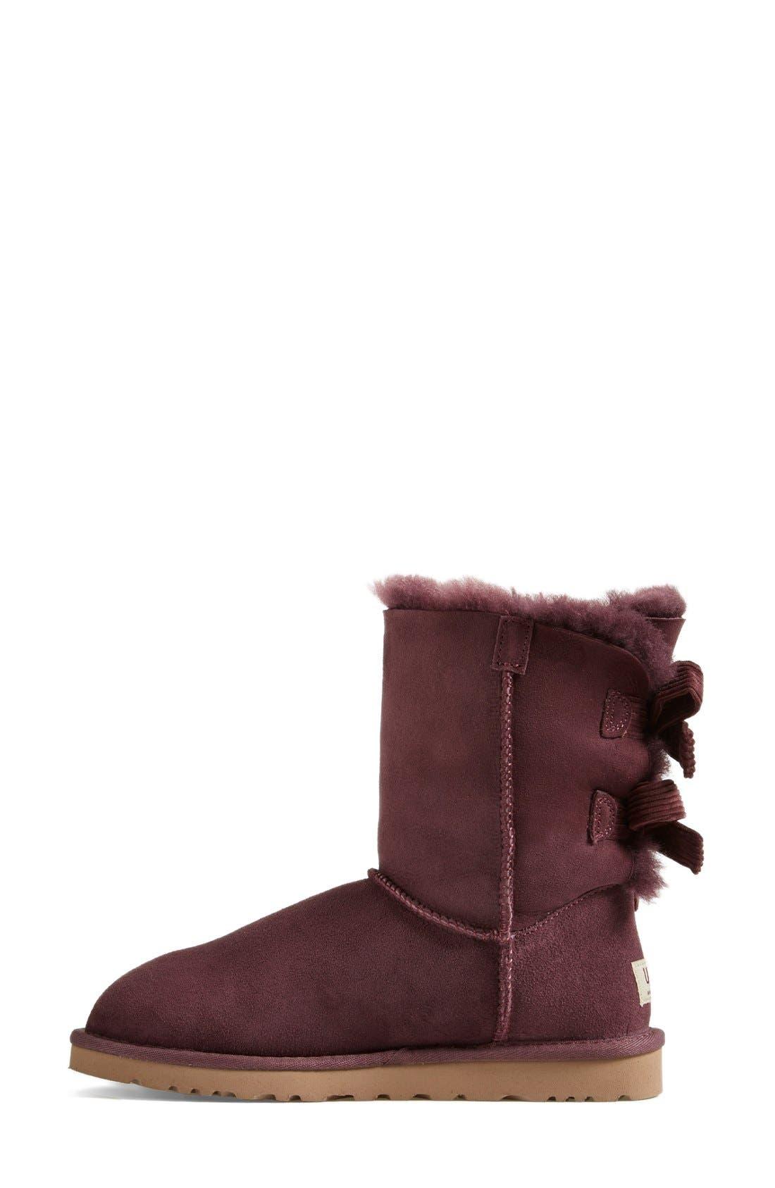 Alternate Image 6  - UGG® Australia 'Bailey Bow Corduroy' Boot (Women)