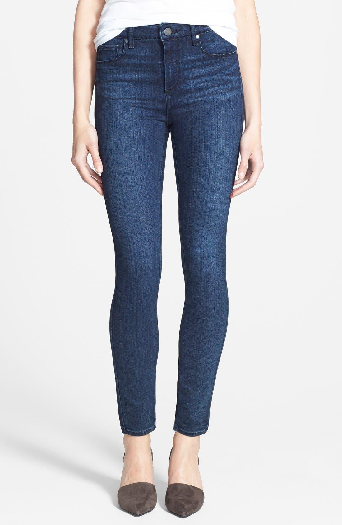 Main Image - Paige Denim 'Transcend - Hoxton' High Rise Ankle Jeans (Valor)