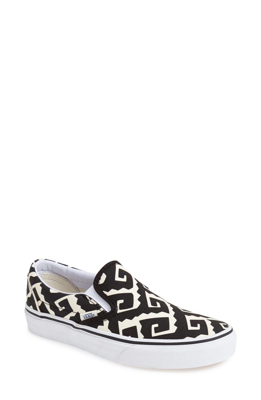 Alternate Image 1 Selected - Vans 'Van Doren - Classic' Slip-On Sneaker (Women)