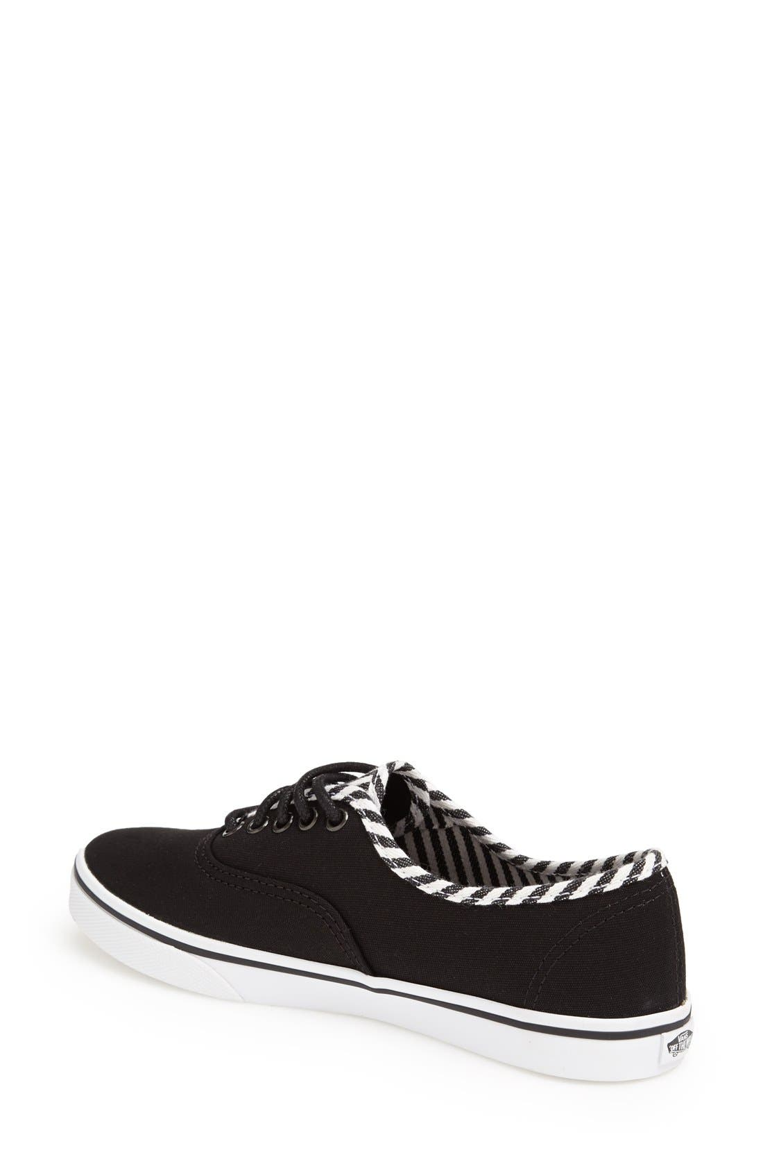 Alternate Image 2  - Vans 'Authentic - Lo Pro Hickory Stripes' Sneaker (Women)