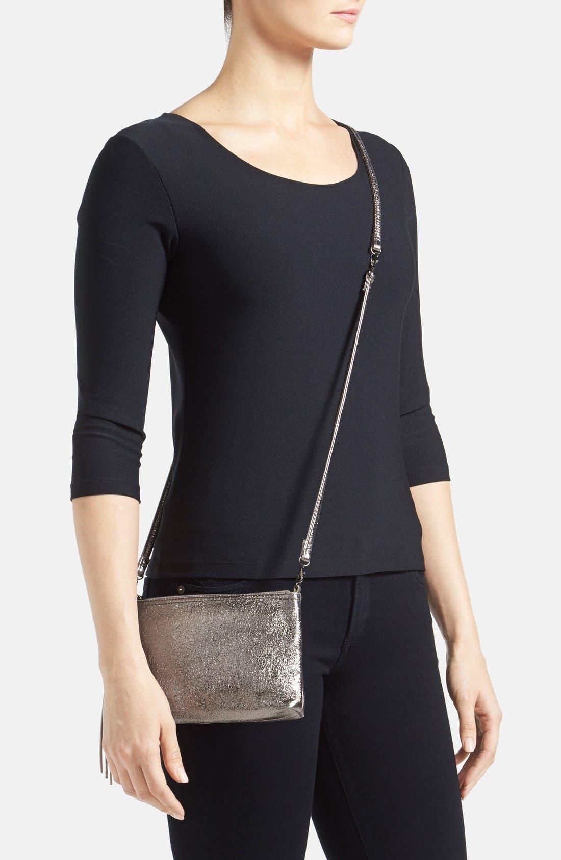 Alternate Image 2  - Hobo 'Darcy' Leather Crossbody Bag