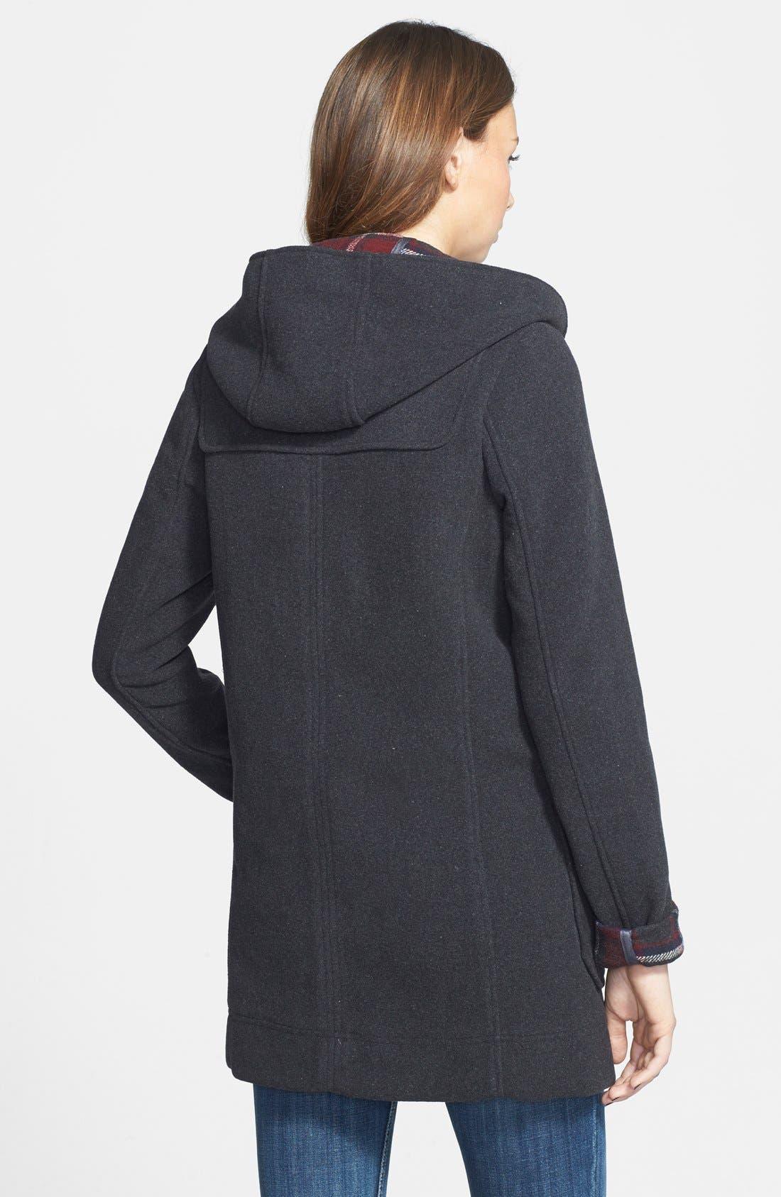 Alternate Image 2  - Thread & Supply Hooded Toggle Coat (Juniors)