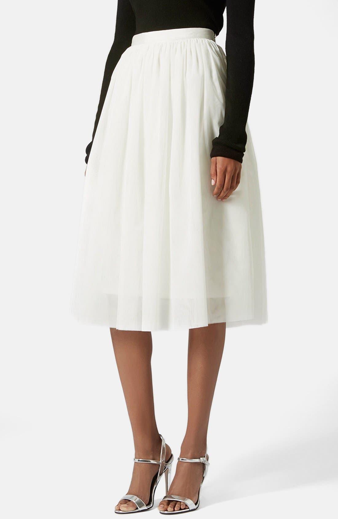 Main Image - Topshop Ballerina Tulle Skirt