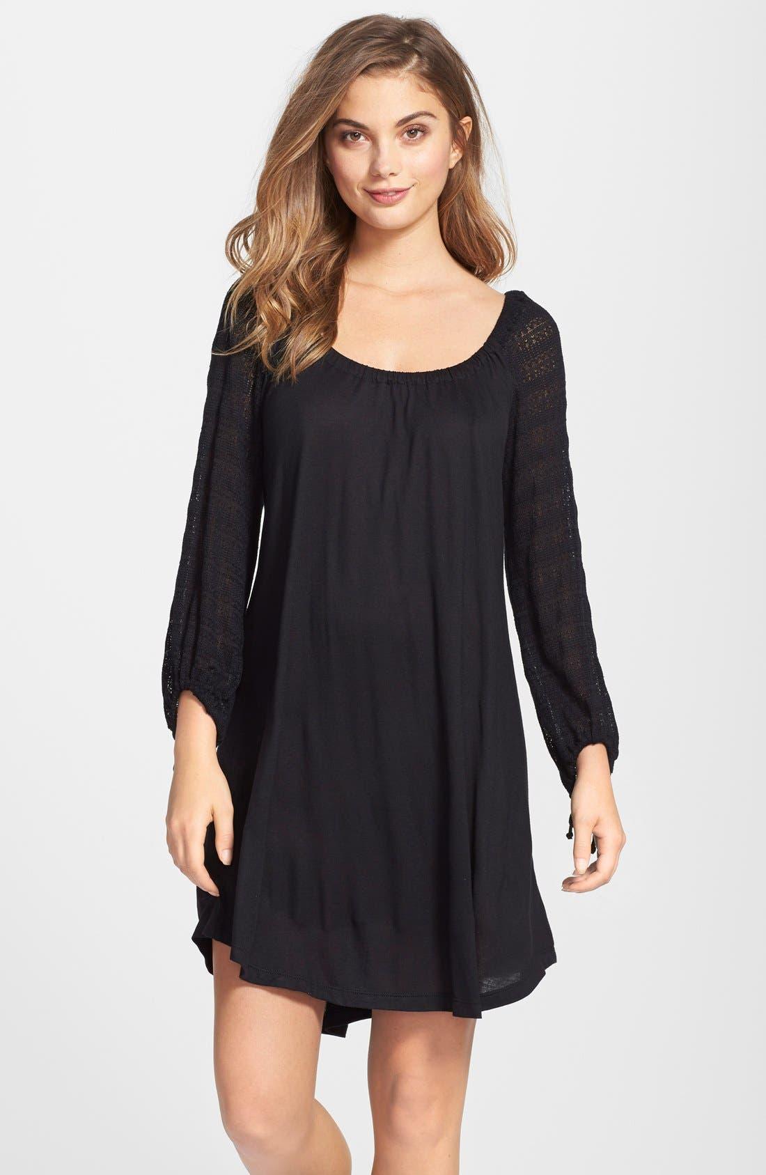 Main Image - Eberjey 'Rosette' Tunic Sleep Shirt