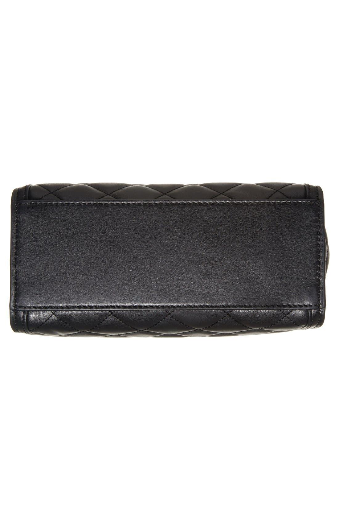Alternate Image 4  - MICHAEL Michael Kors 'Medium Selma' Quilted Leather Messenger Bag