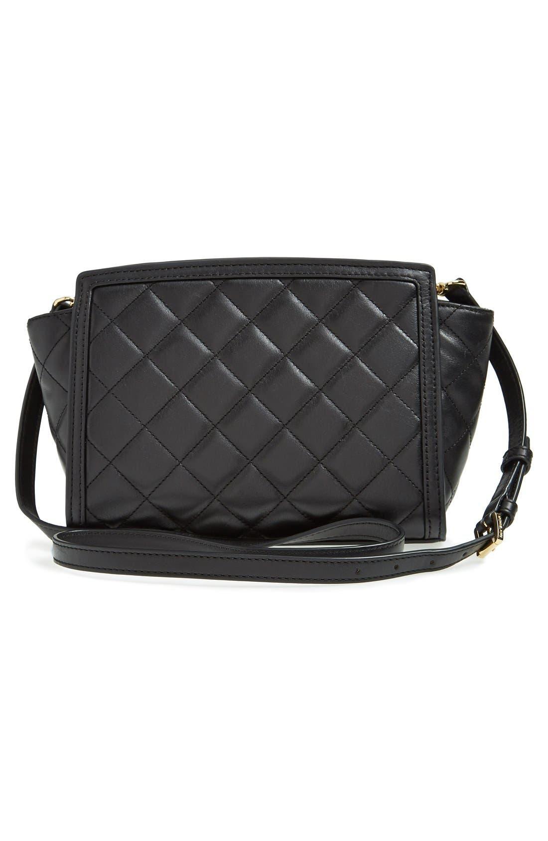 Alternate Image 5  - MICHAEL Michael Kors 'Medium Selma' Quilted Leather Messenger Bag