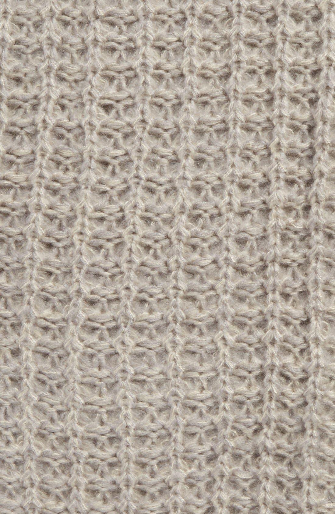 Alternate Image 3  - BP. Waffle Knit Infinity Scarf (Juniors)