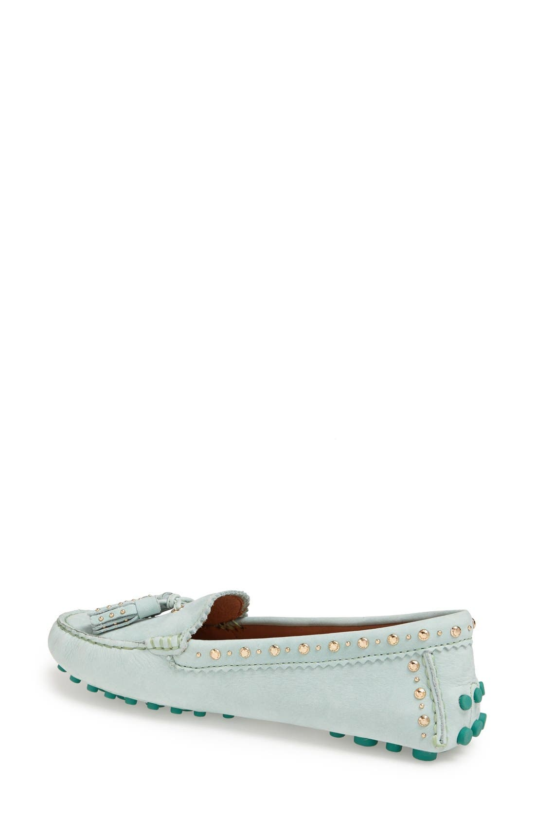 Alternate Image 2  - COACH 'Norfolk' Leather Driving Loafer (Women)