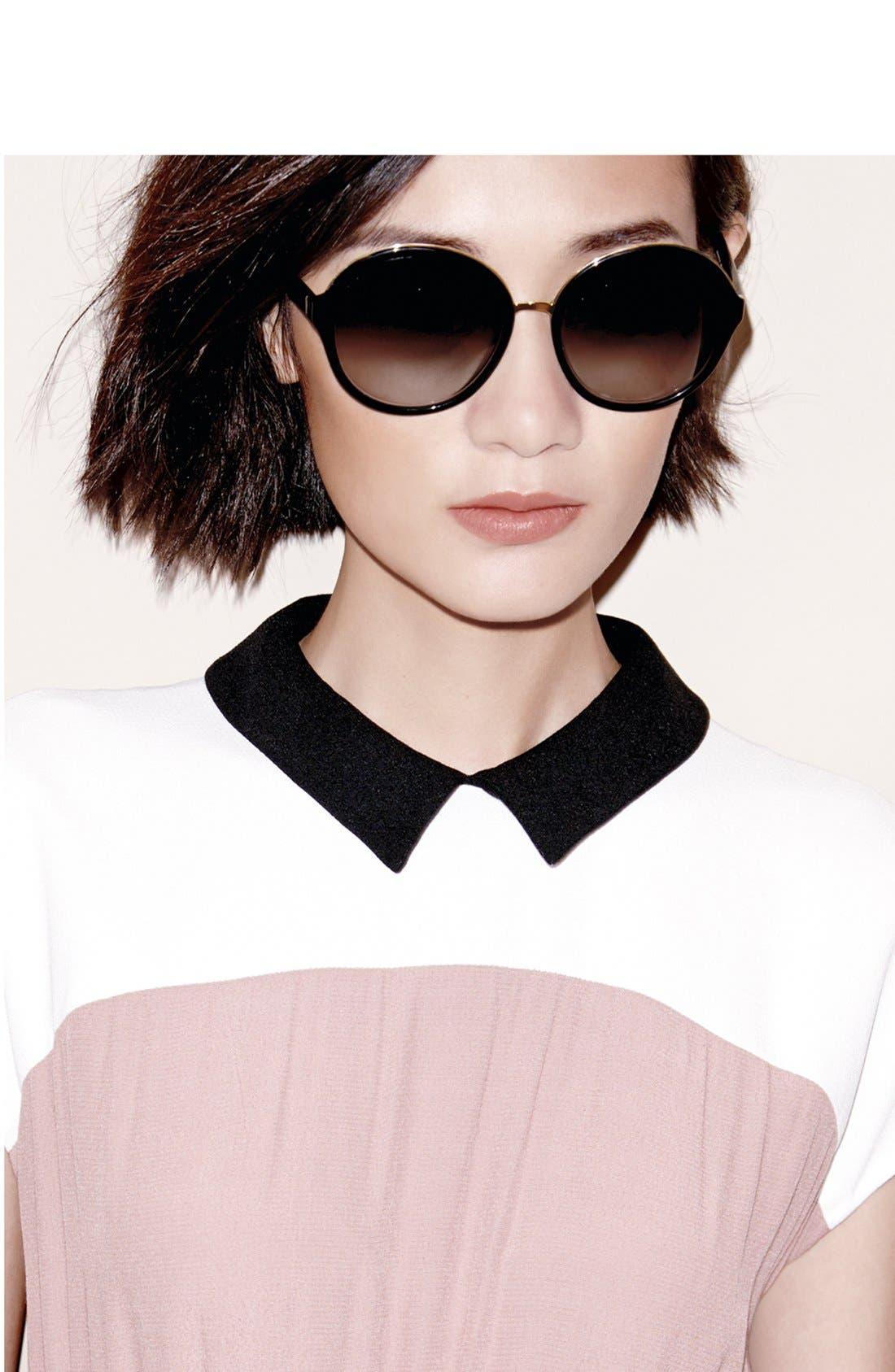 Alternate Image 2  - kate spade new york 'bernadette' 58mm gradient sunglasses