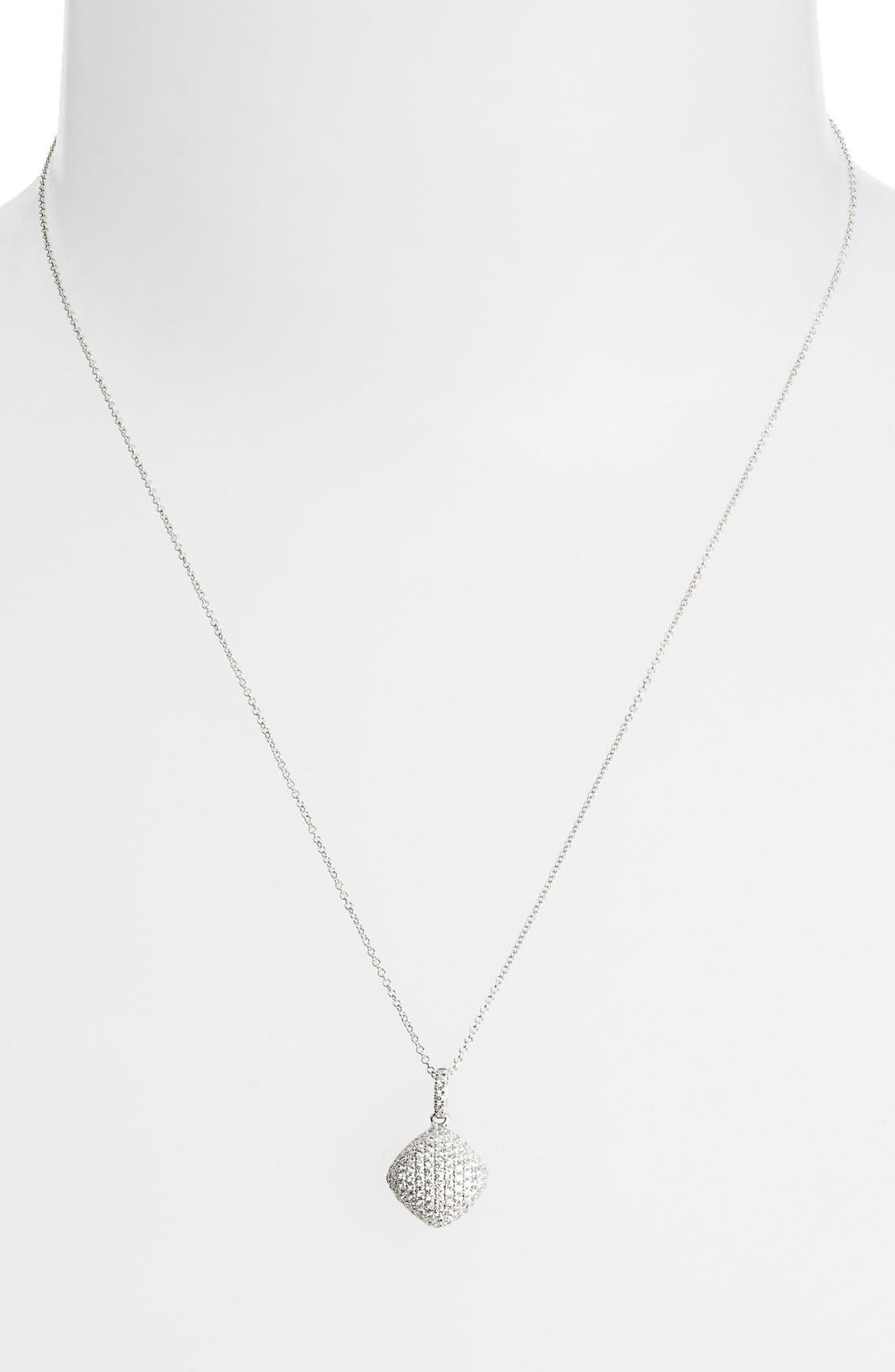 BONY LEVY Pavé Diamond Pendant Necklace