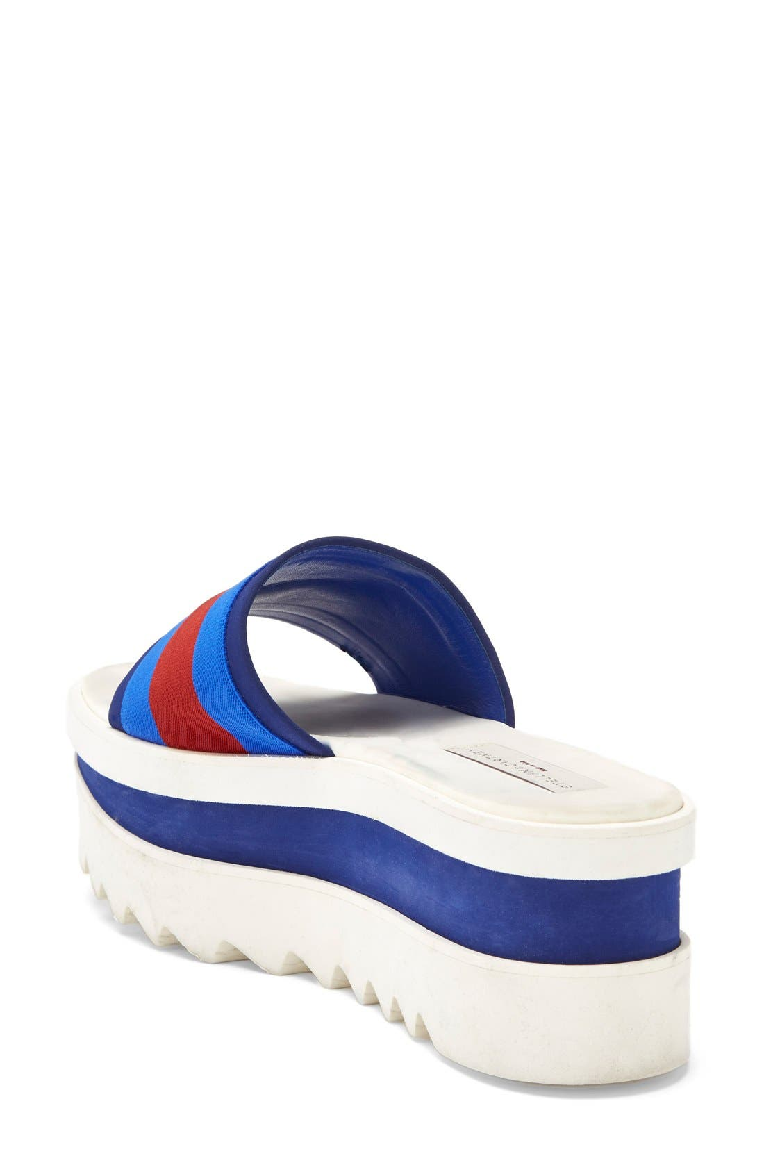 Alternate Image 2  - Stella McCartney Platform Slide Sandal (Women)