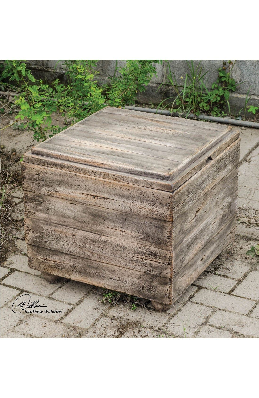 Alternate Image 2  - Uttermost 'Avner' Wooden Cube Table