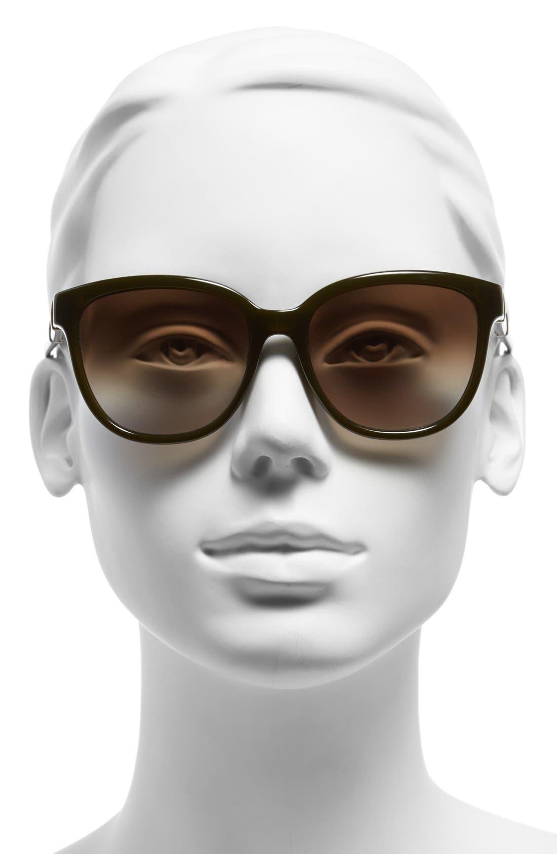 Alternate Image 2  - Chloé 'Daisy' 54mm Sunglasses
