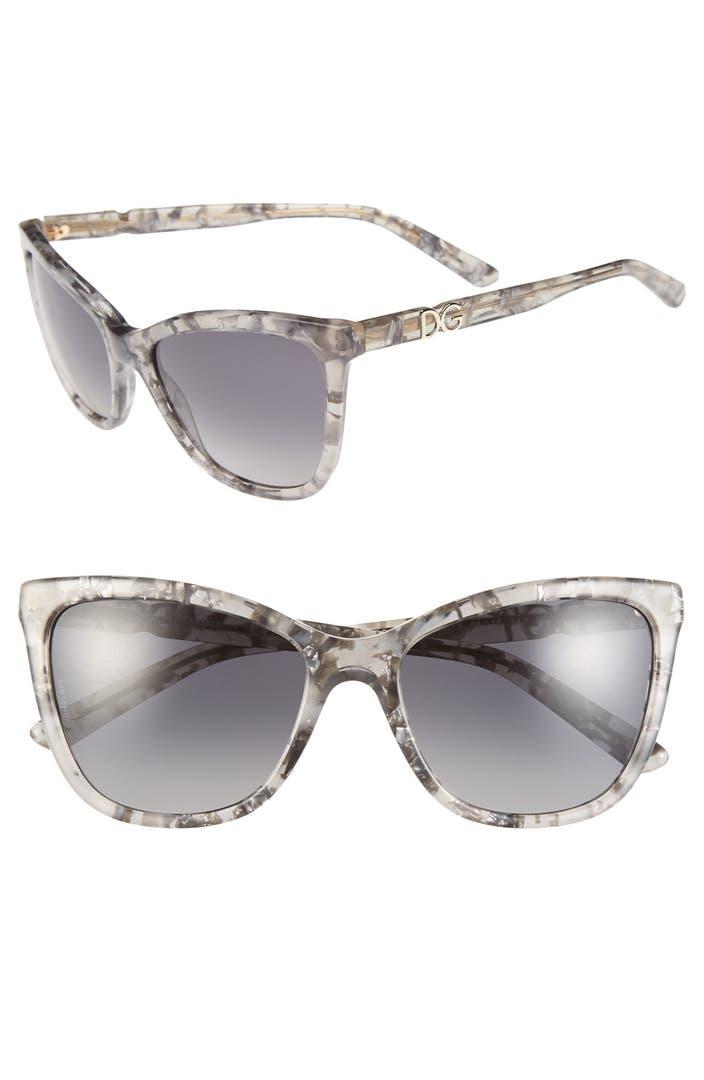 Dolce Amp Gabbana 56mm Polarized Sunglasses Nordstrom