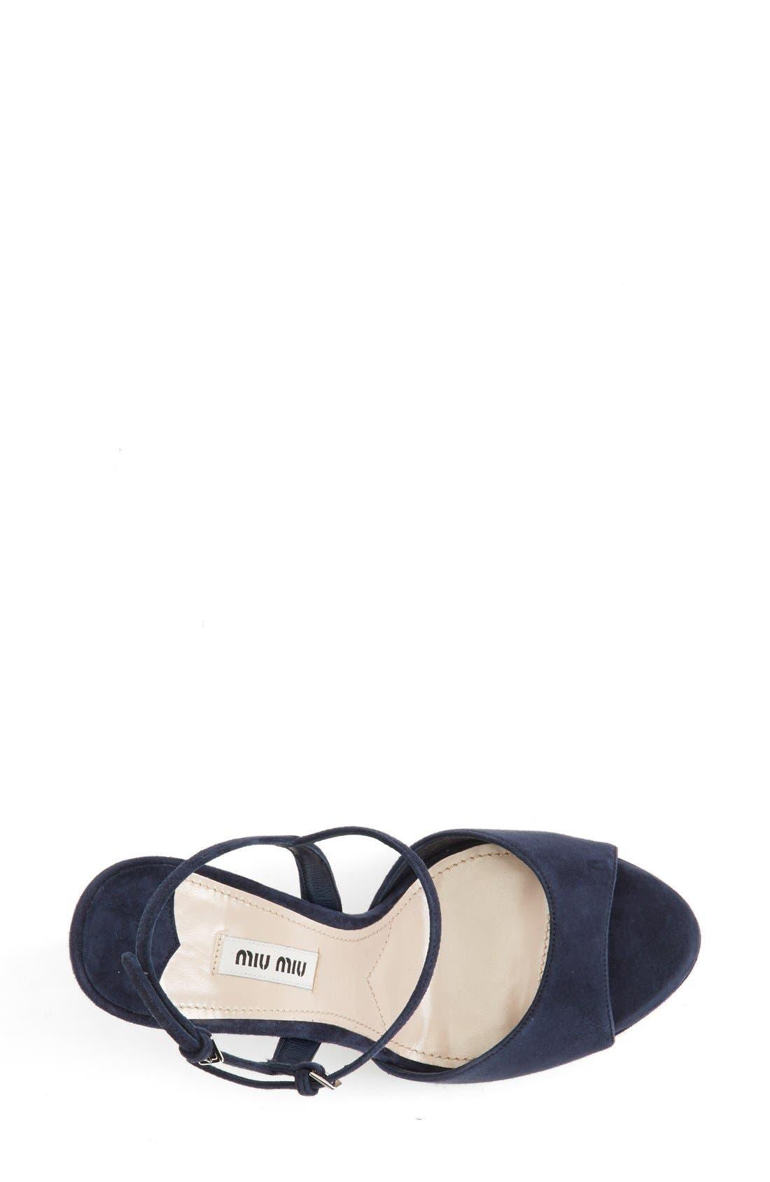 Alternate Image 3  - Miu Miu Platform Sandal (Women)