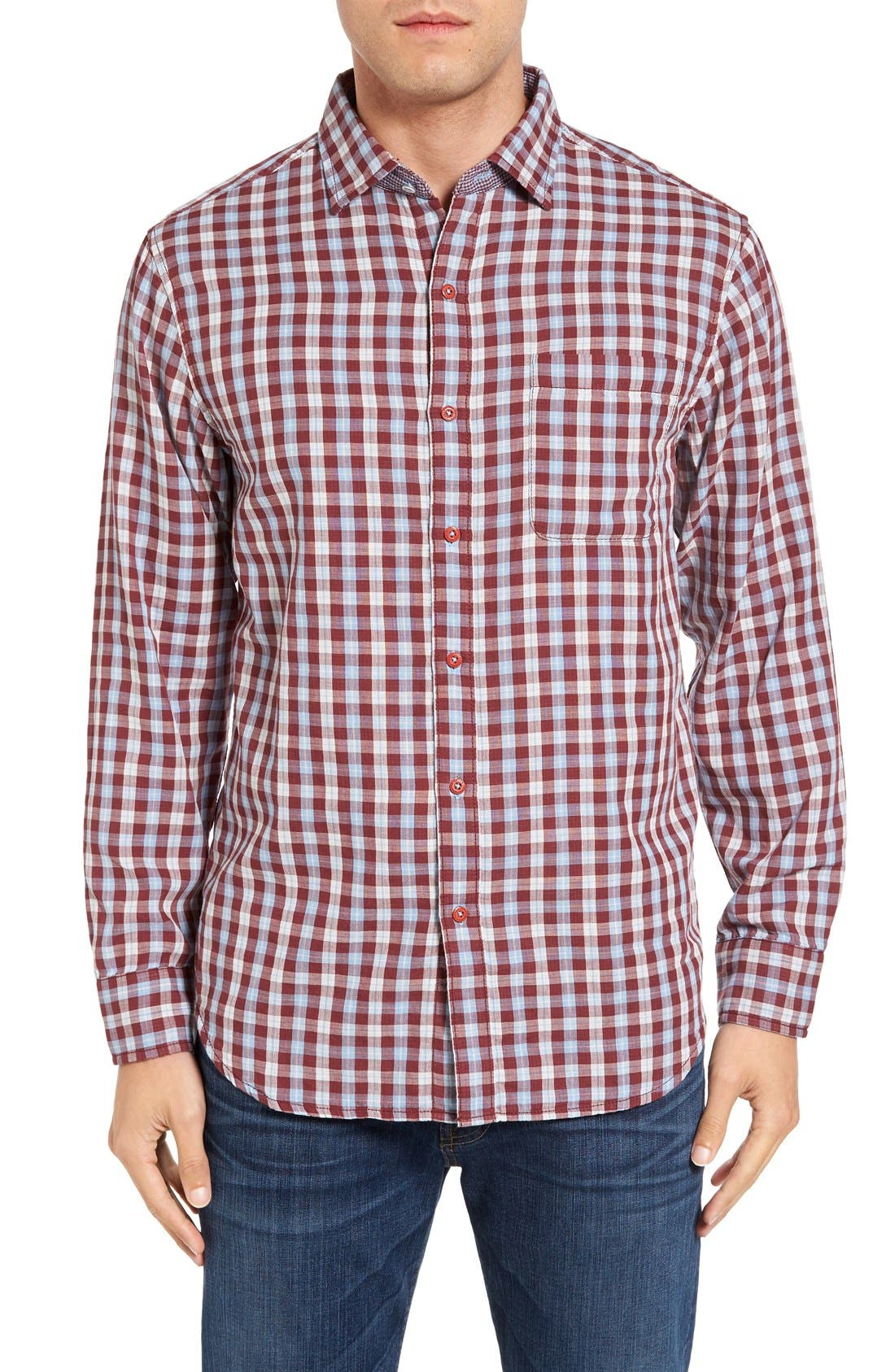 Tommy Bahama Copatana Plaid Sport Shirt (Big & Tall)