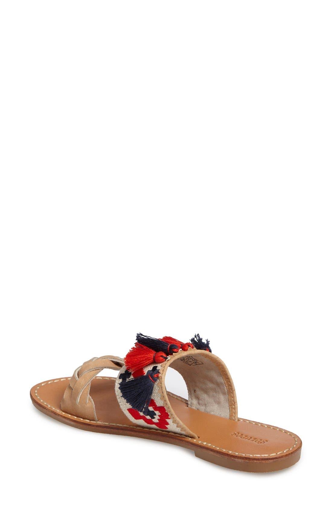 Alternate Image 2  - Soludus Embroidered Slide Sandal (Women)