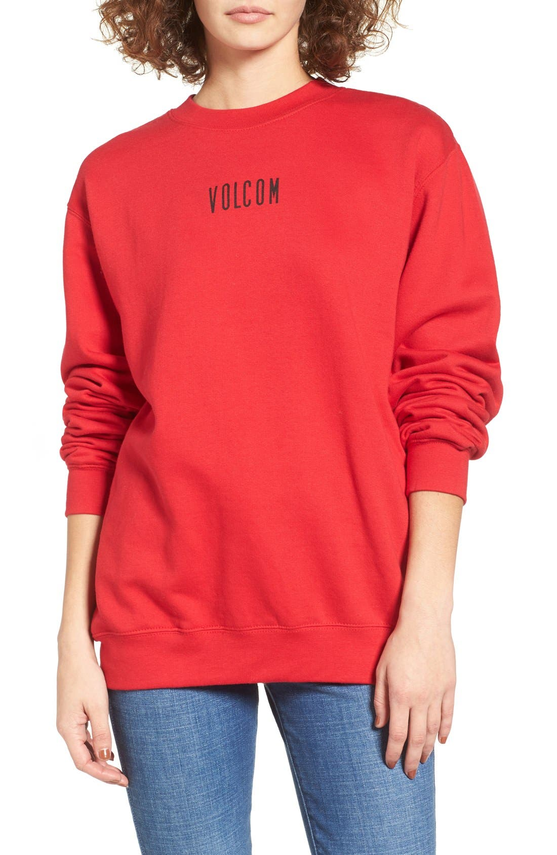 Alternate Image 1 Selected - Volcom Hesh Graphic Pullover