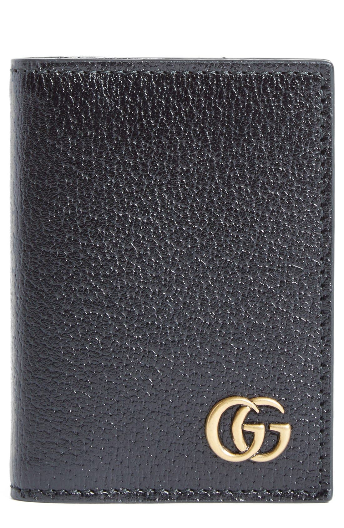Gucci Marmont Leather Card Case