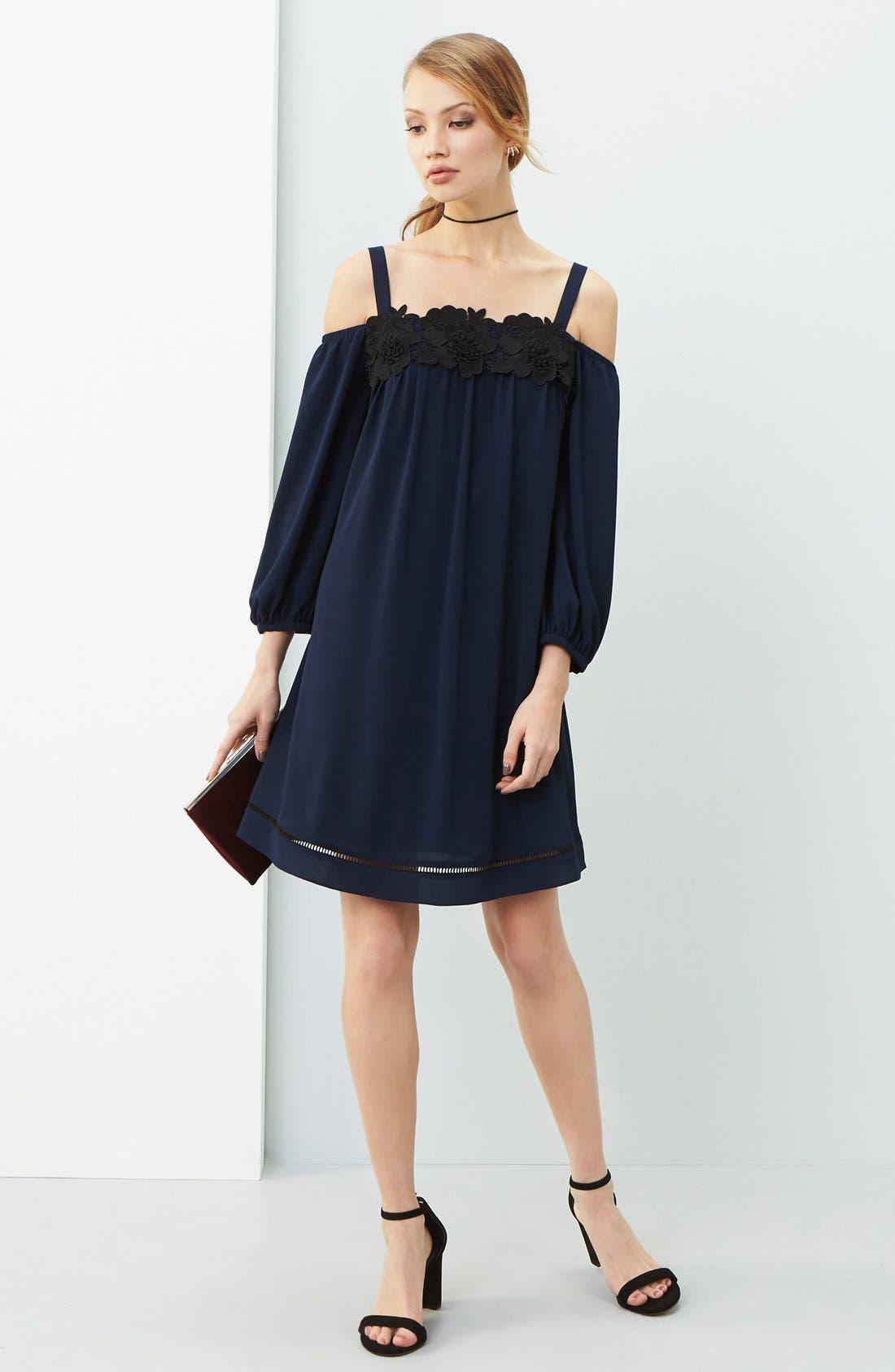 Alternate Image 2  - Chelsea28 Cold Shoulder Dress