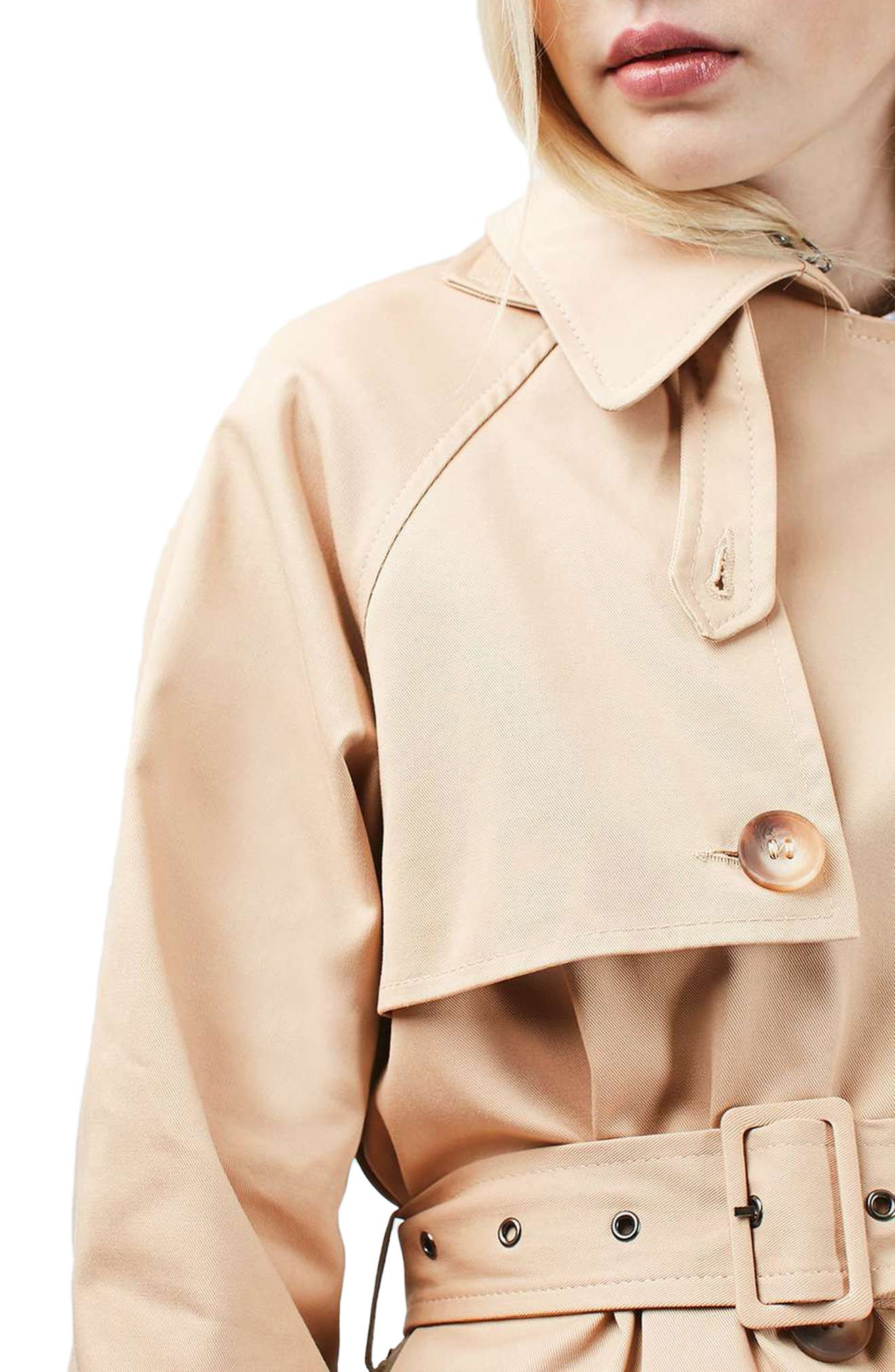 Alternate Image 6  - Topshop Trench Coat