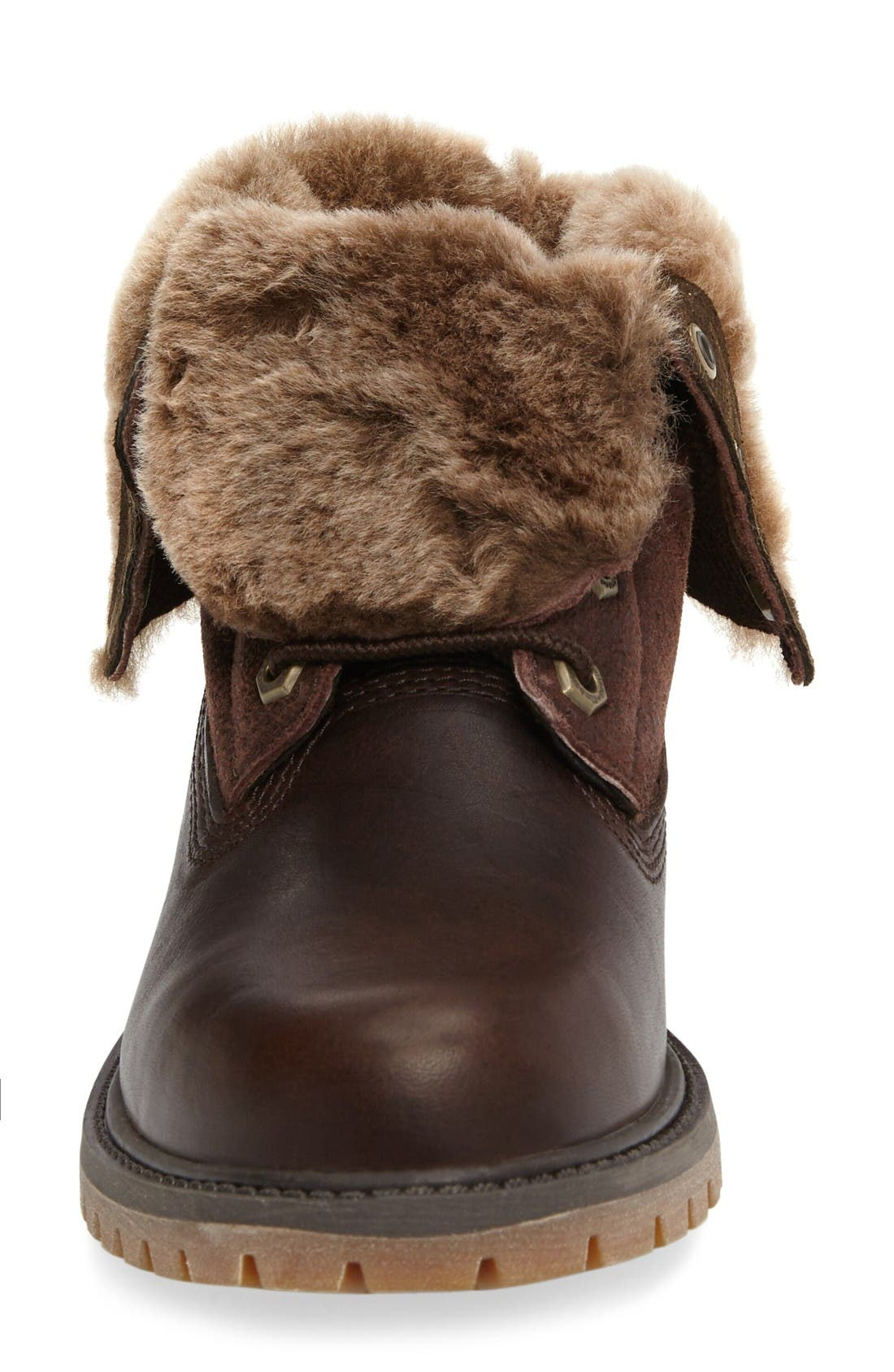 Alternate Image 3  - Timberland Authentic Water Resistant Genuine Shearling Boot (Women)