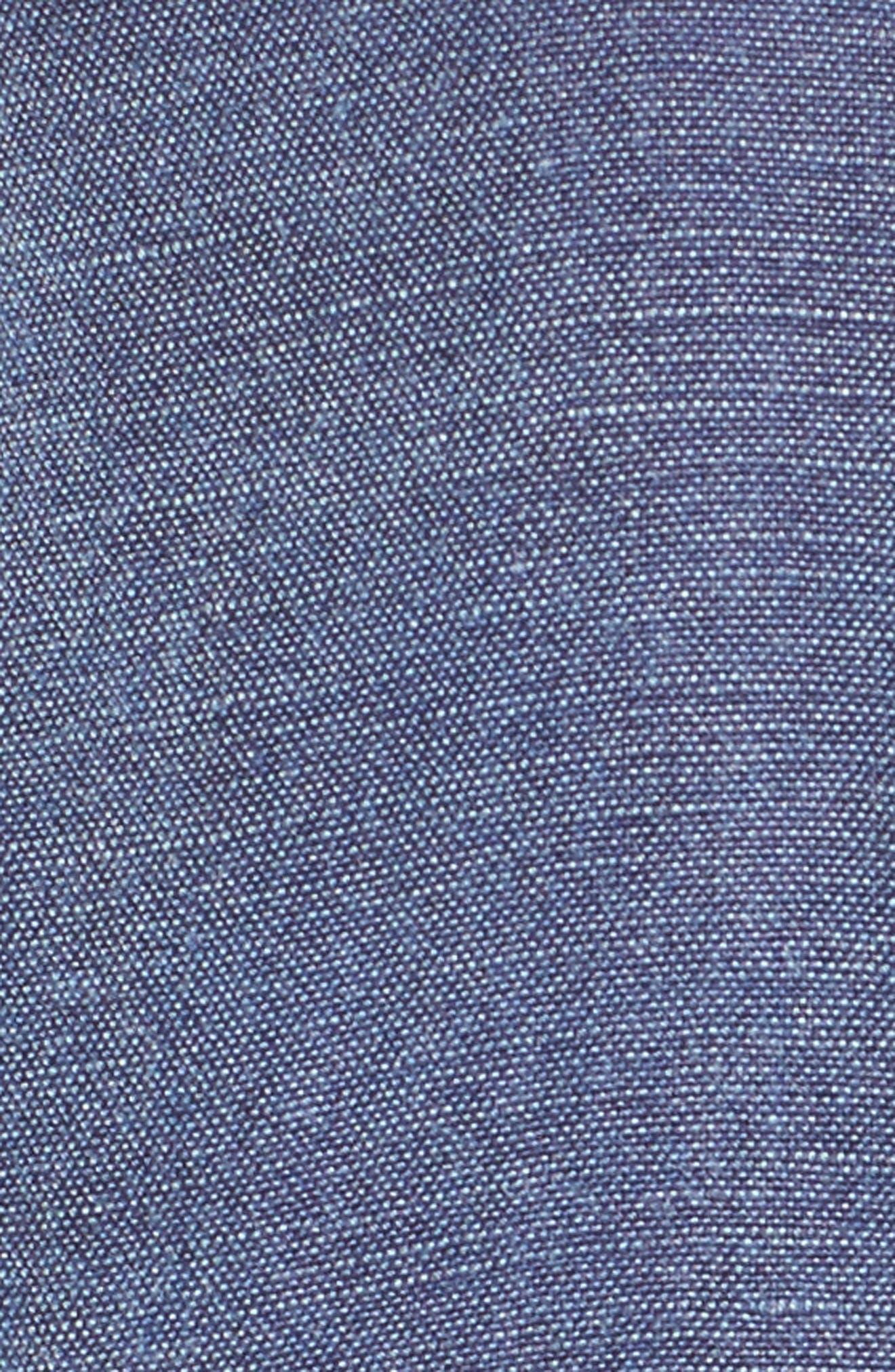 Alternate Image 5  - BP. Washed Linen Blend Jacket