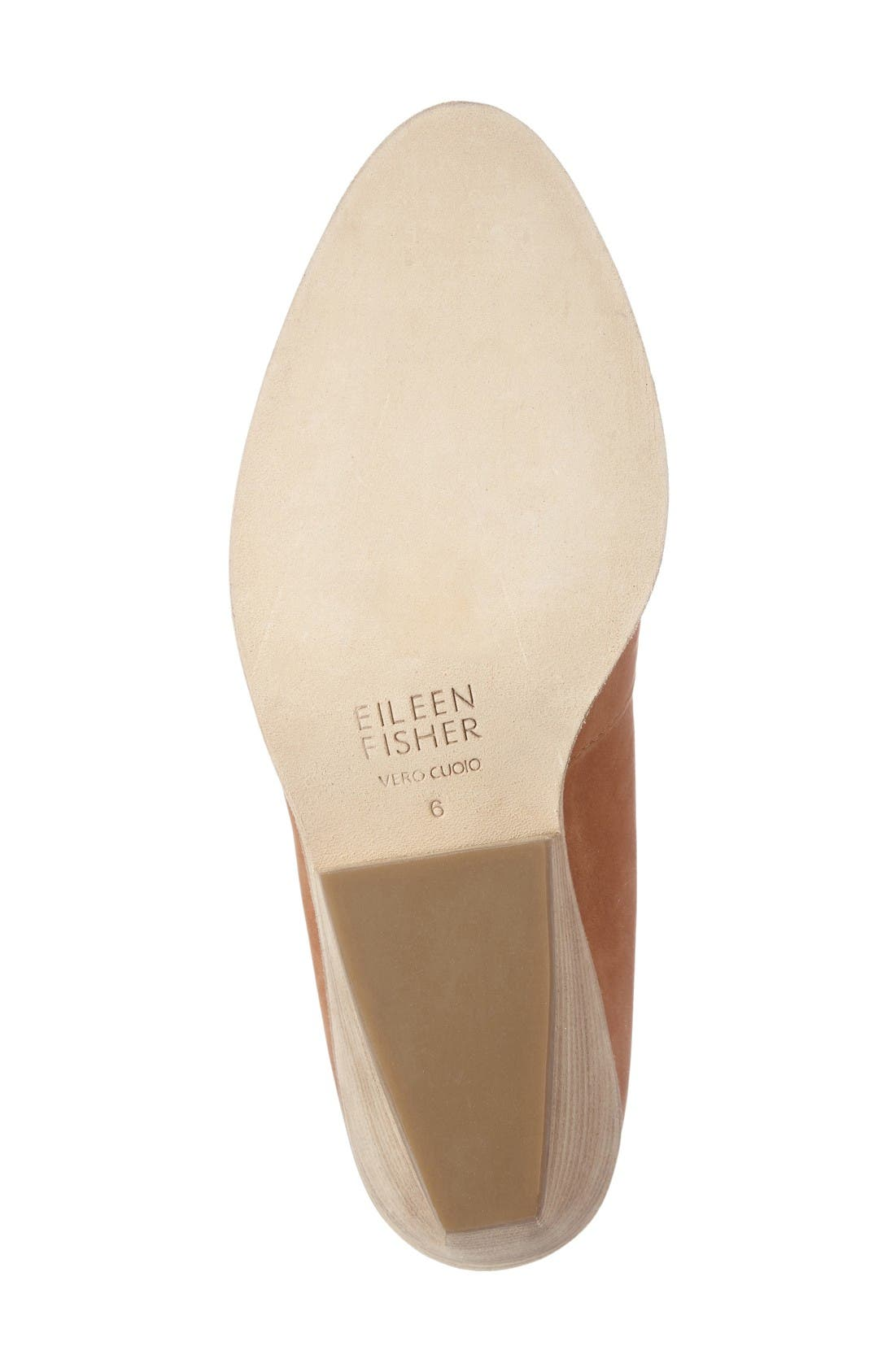 Alternate Image 4  - Eileen Fisher Nelson Split Shaft Block Heel Bootie (Women)