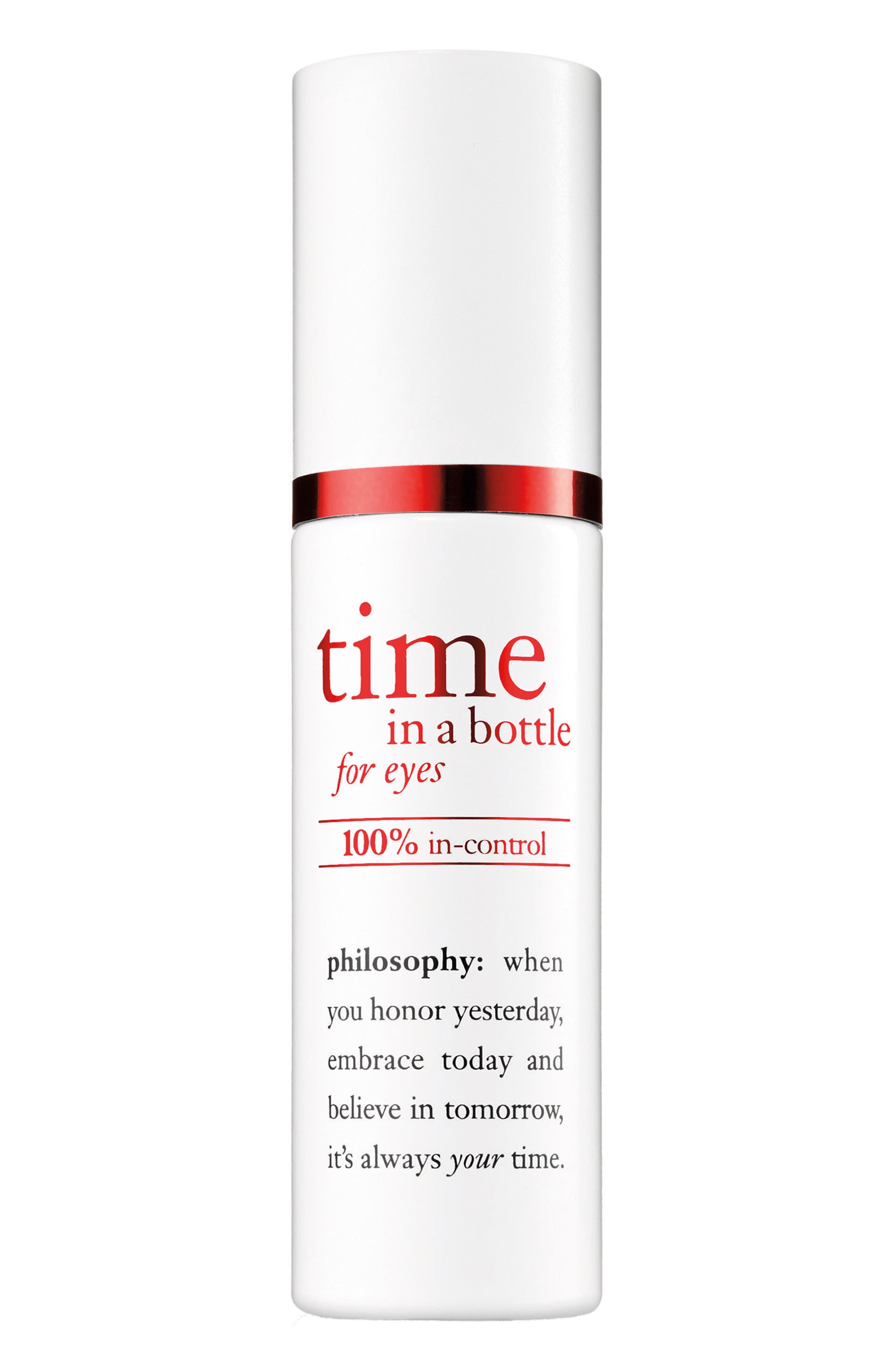 Main Image - philosophy time in a bottle eye serum