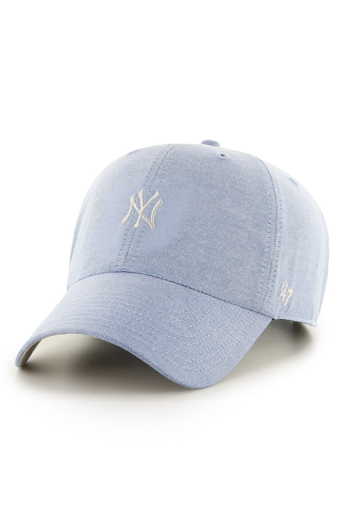 Alternate Image 1 Selected - '47 Monument Salute Clean Up NY Yankees Baseball Cap