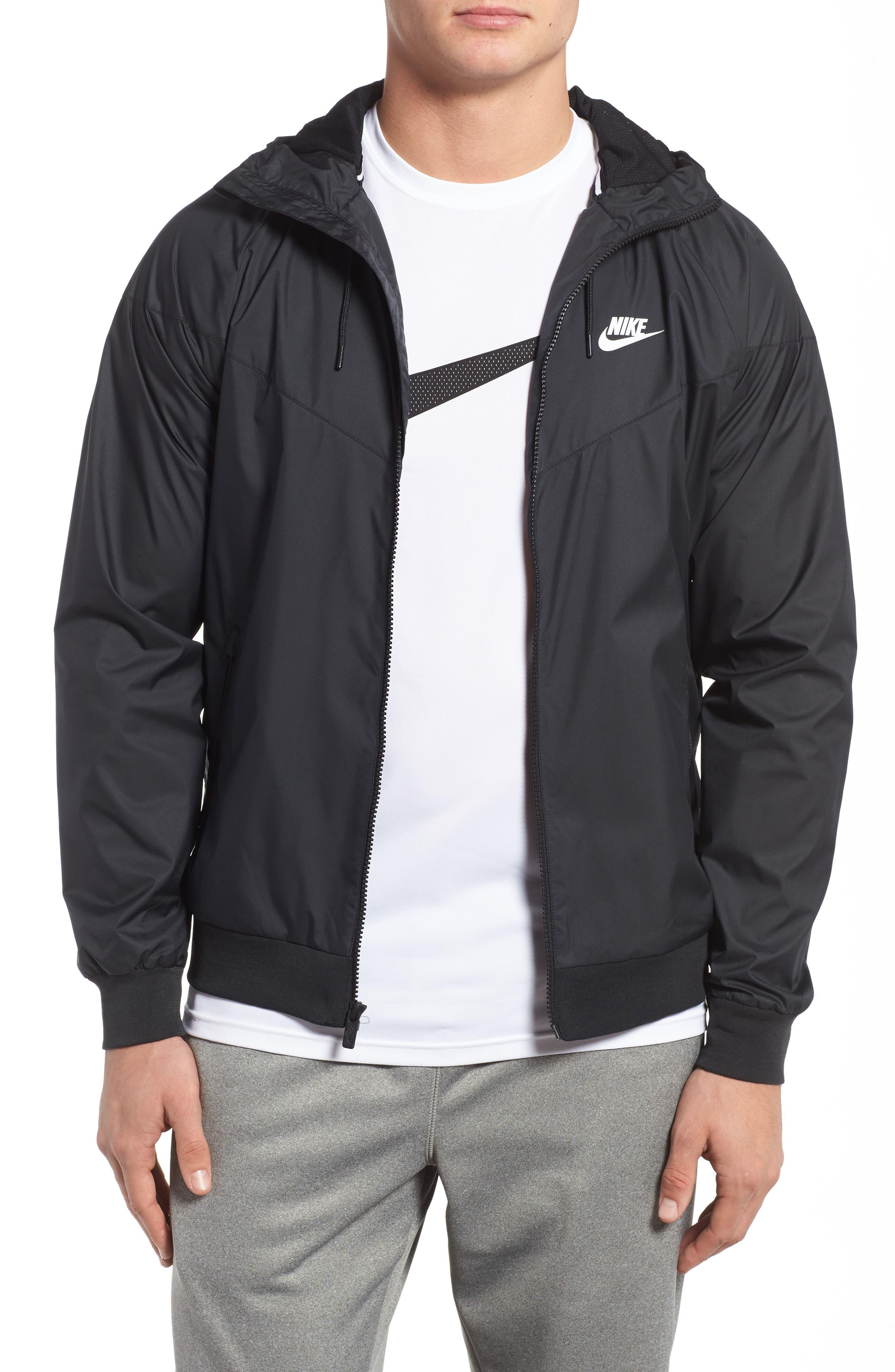 Alternate Image 1 Selected - Nike 'Windrunner' Colorblock Jacket
