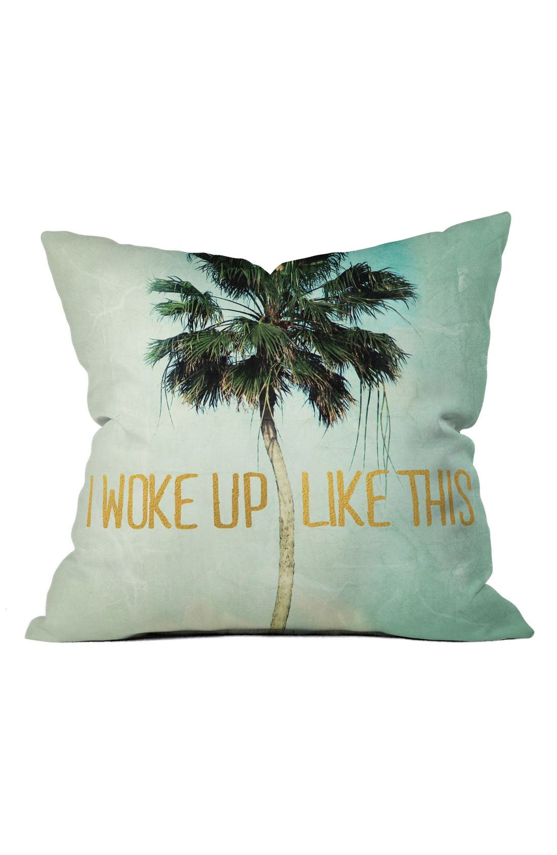 DENY DESIGNS Woke Up Like This Pillow