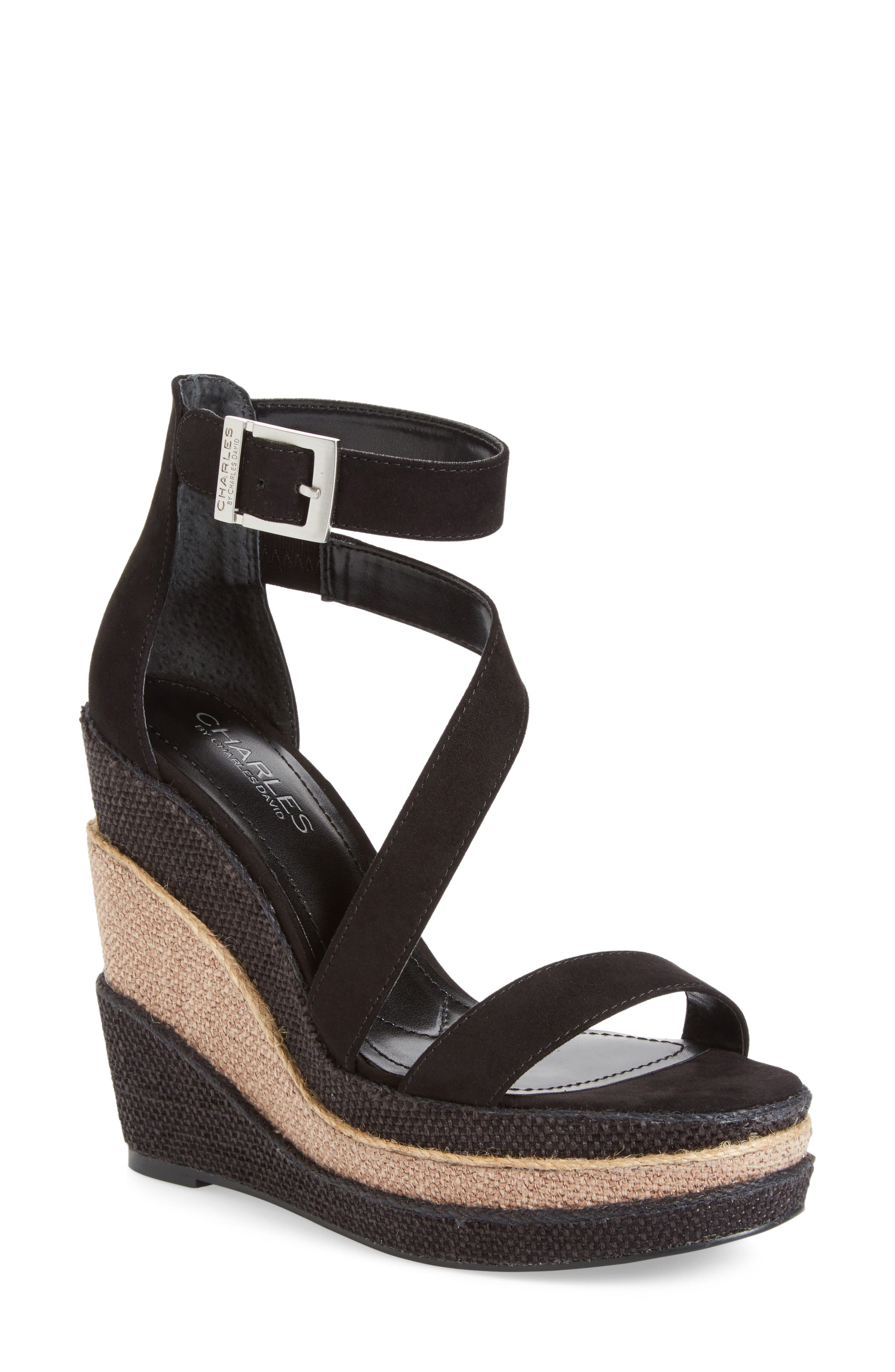 Charles by Charles David Thunder Wedge Sandal (Women)