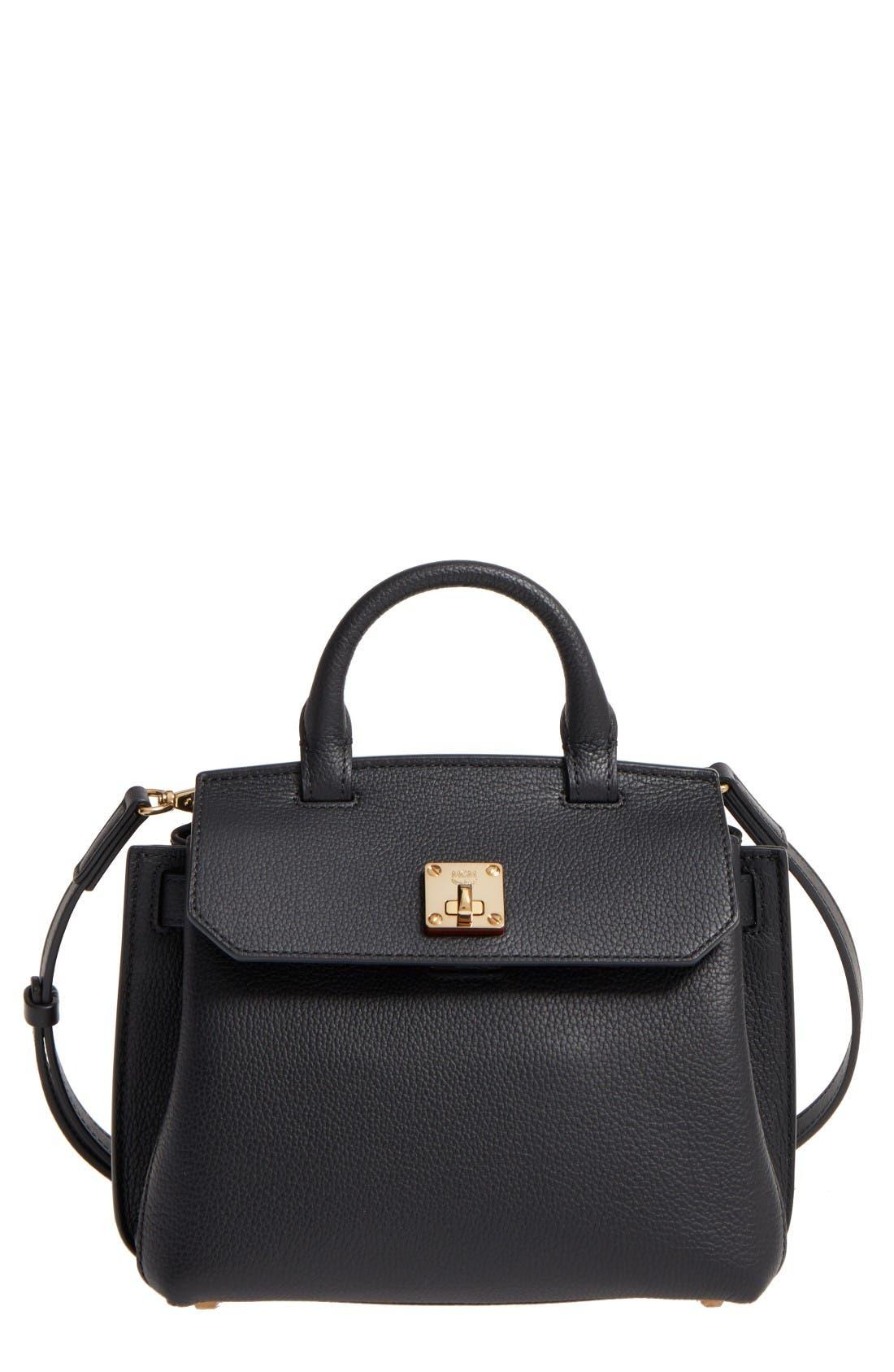 MCM Milla Leather Crossbody Bag