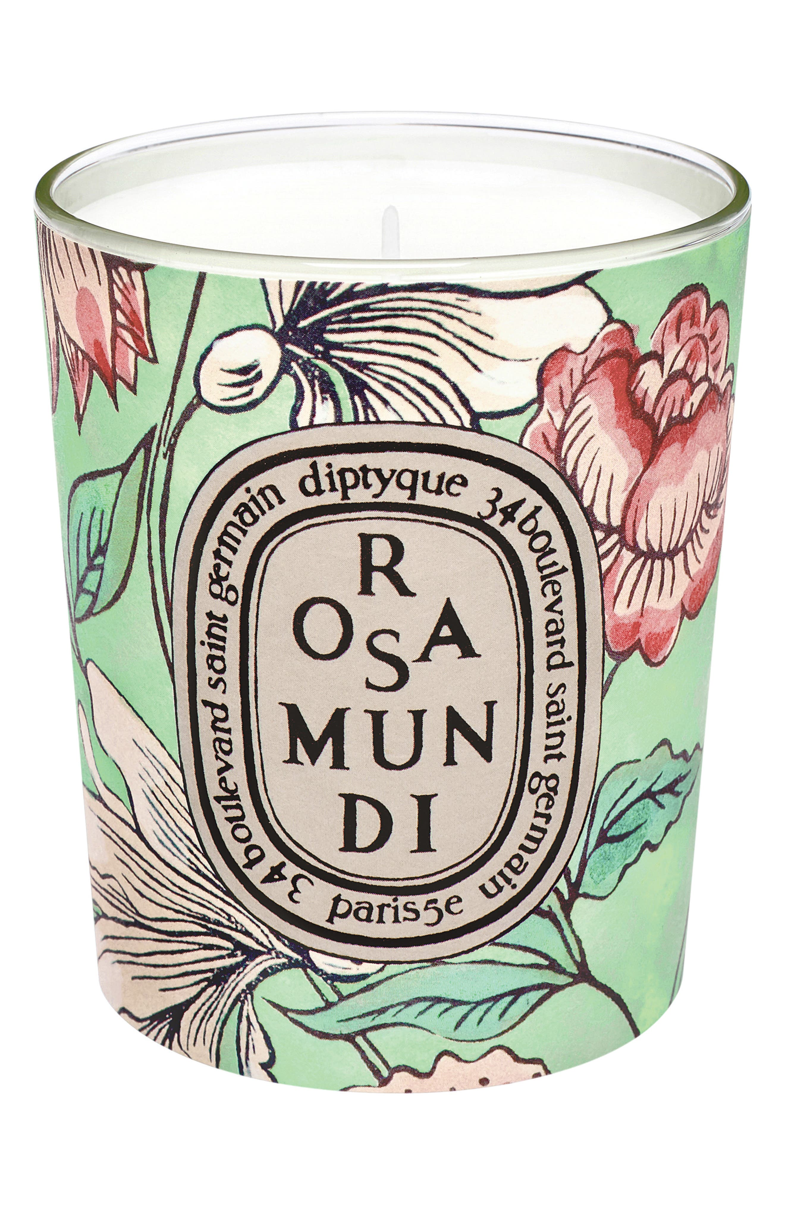 Alternate Image 1 Selected - diptyque Rosa Mundi Votive Candle (Limited Edition)