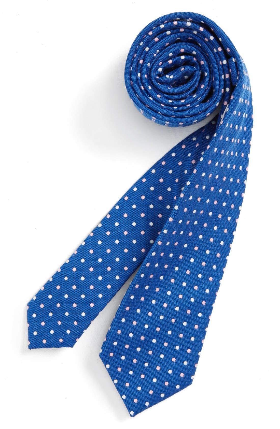 NORDSTROM Dot Silk Tie
