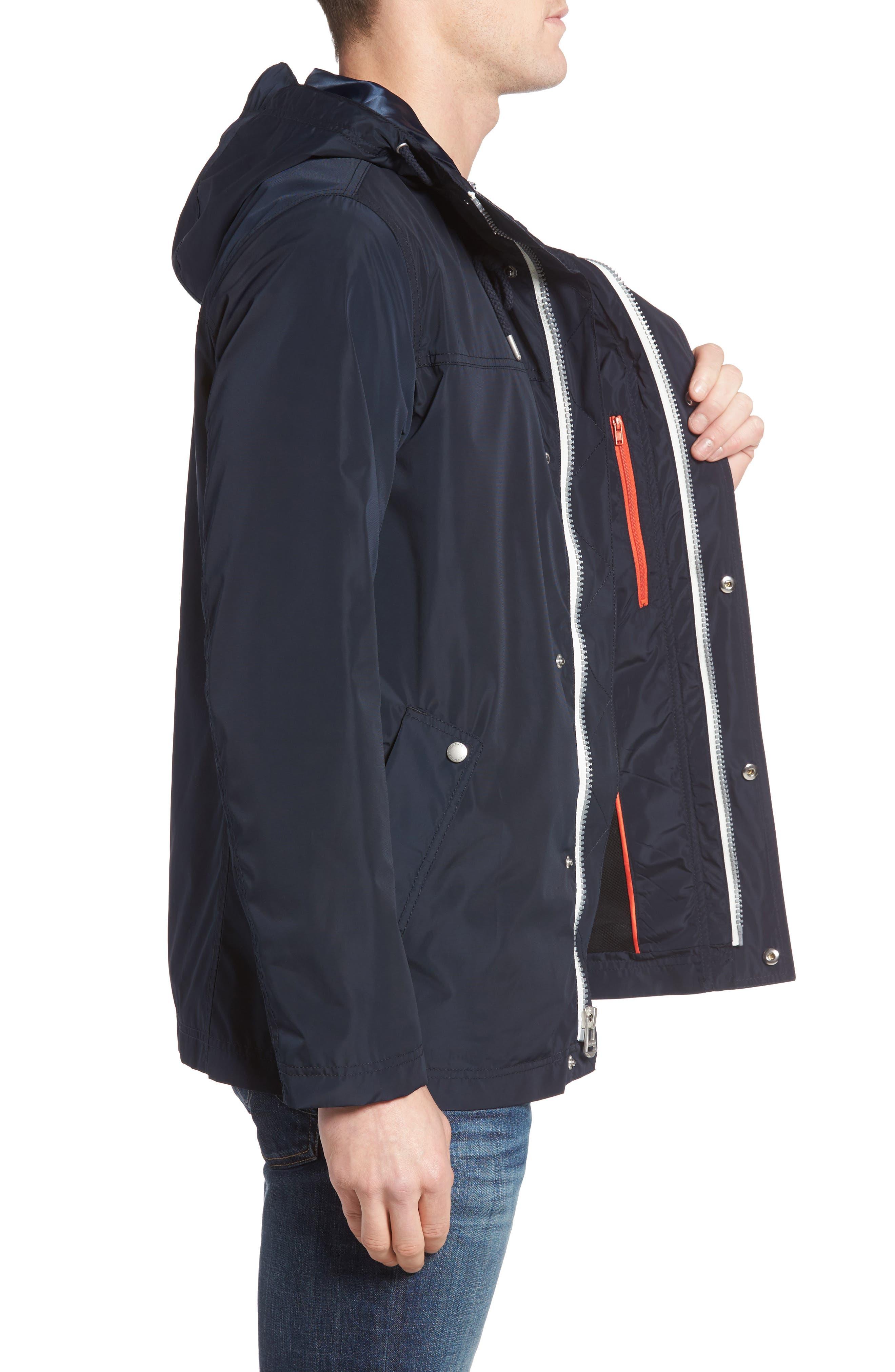 Alternate Image 3  - Cole Haan Packable Hooded Rain Jacket