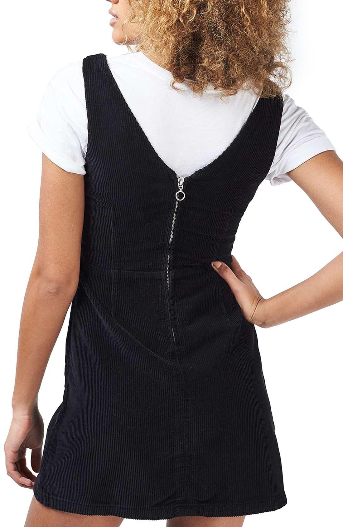Alternate Image 3  - Topshop Corduroy Dress
