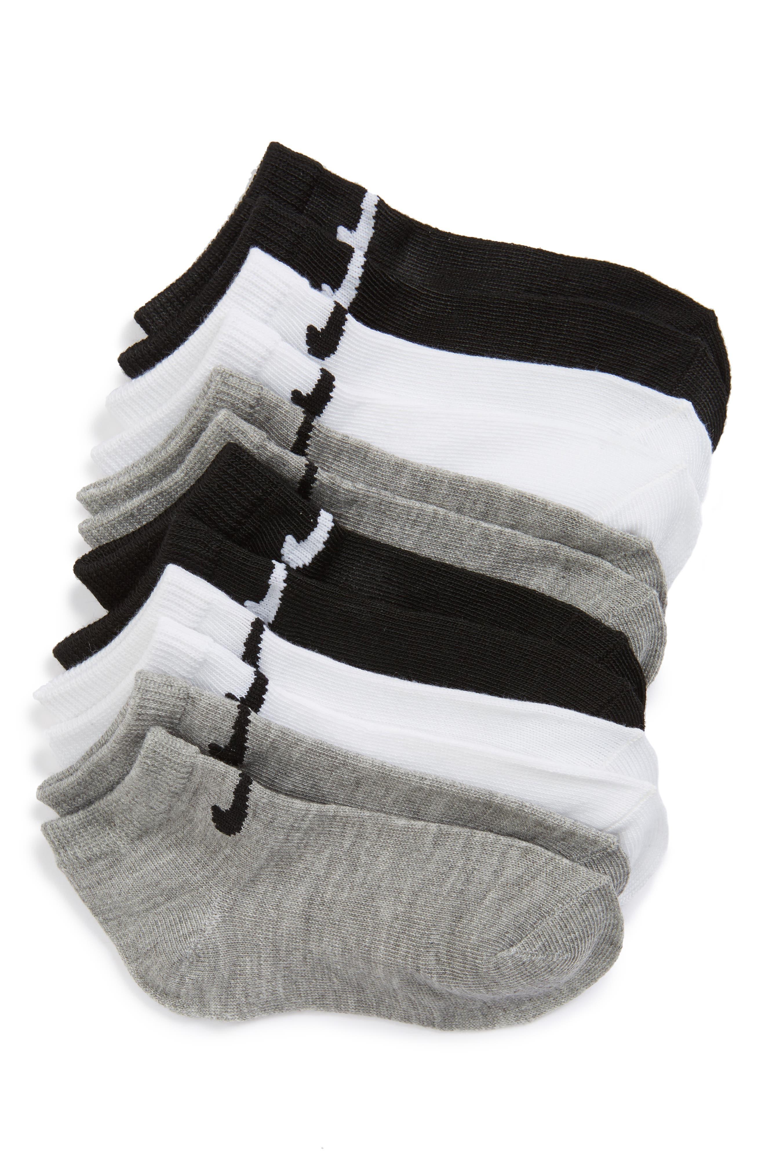 Nike Low Cut Performance Socks (6-Pack) (Toddler & Little Kid)