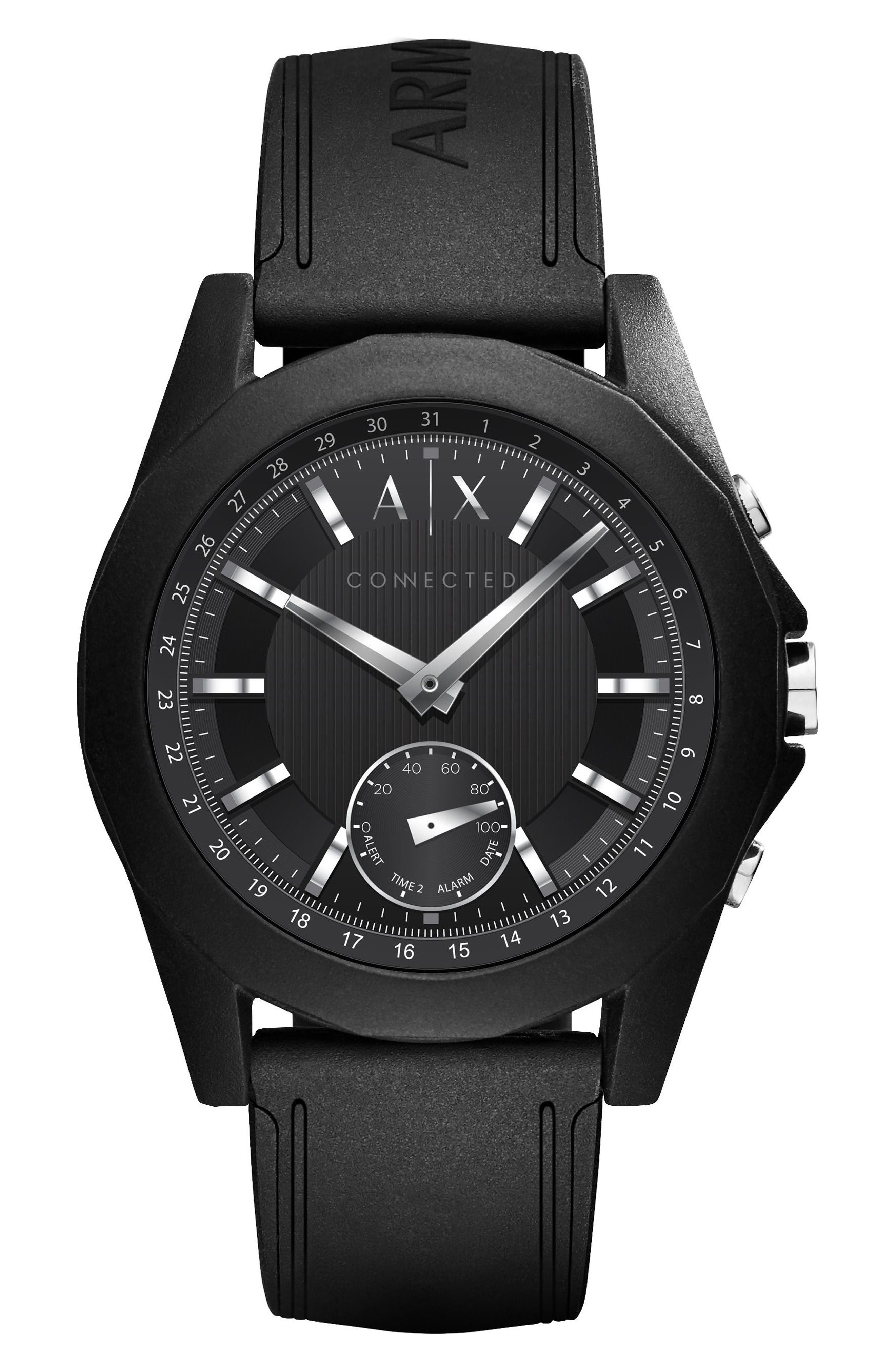 AX Armani Exchange Connected Smartwatch, 44mm