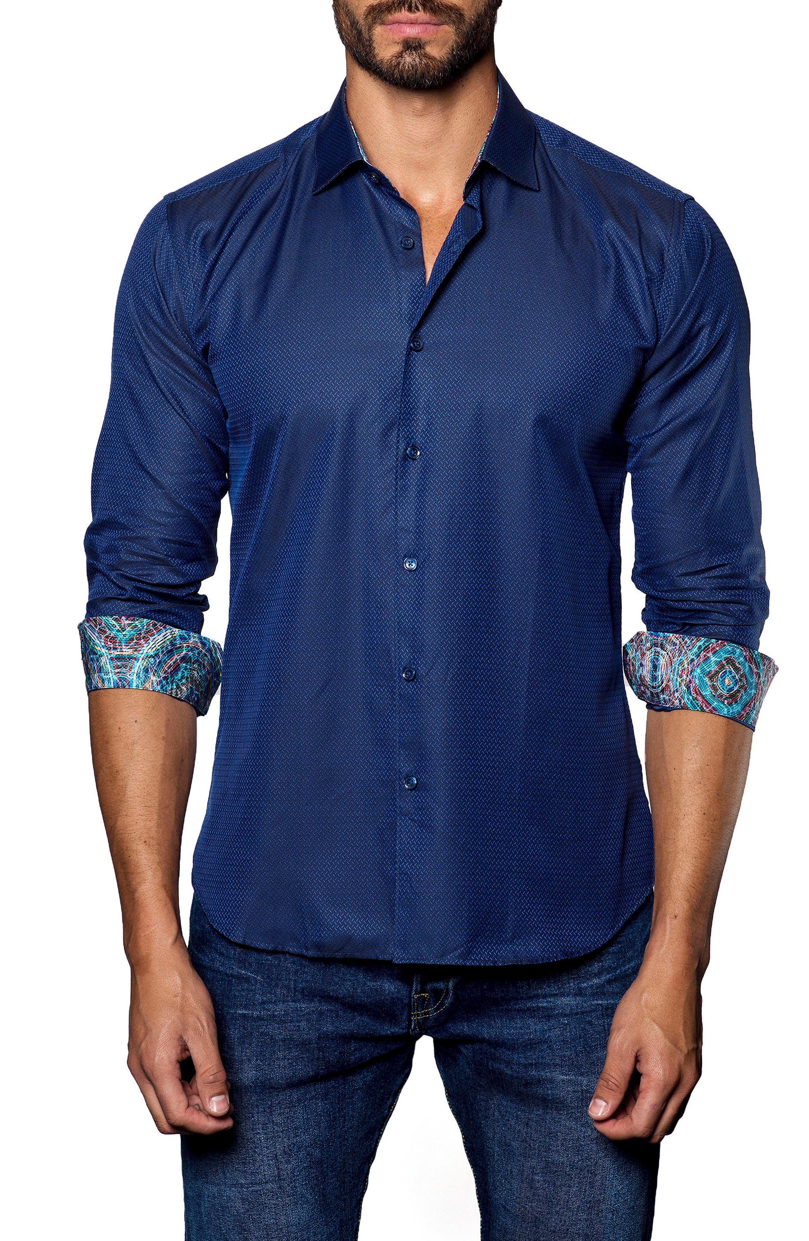 Jared Lang Dobby Sport Shirt