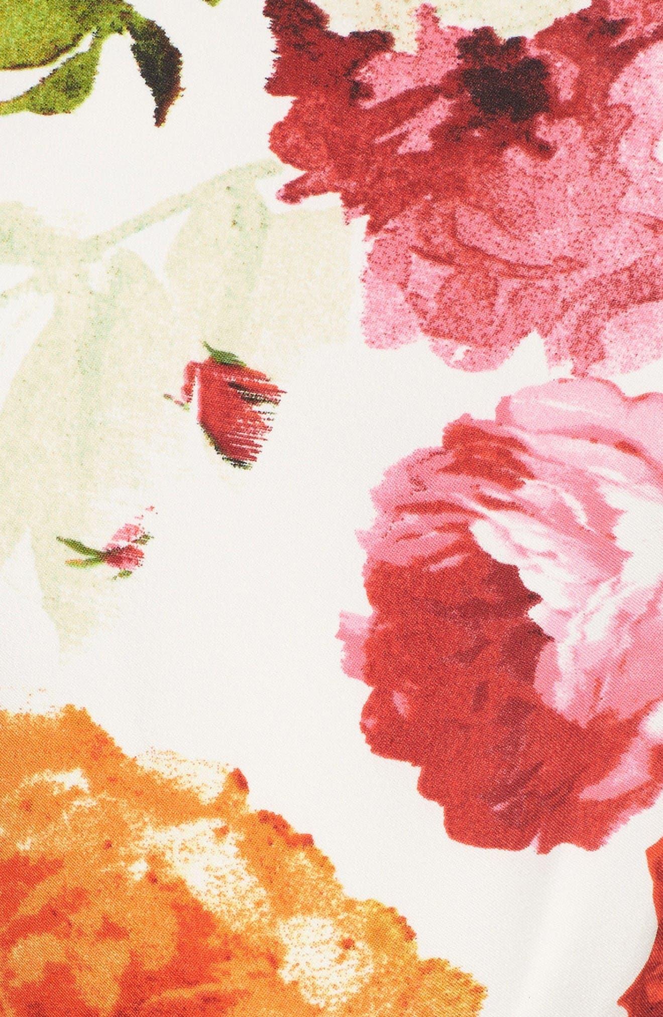 Alternate Image 6  - Gabby Skye Floral Fit & Flare Dress