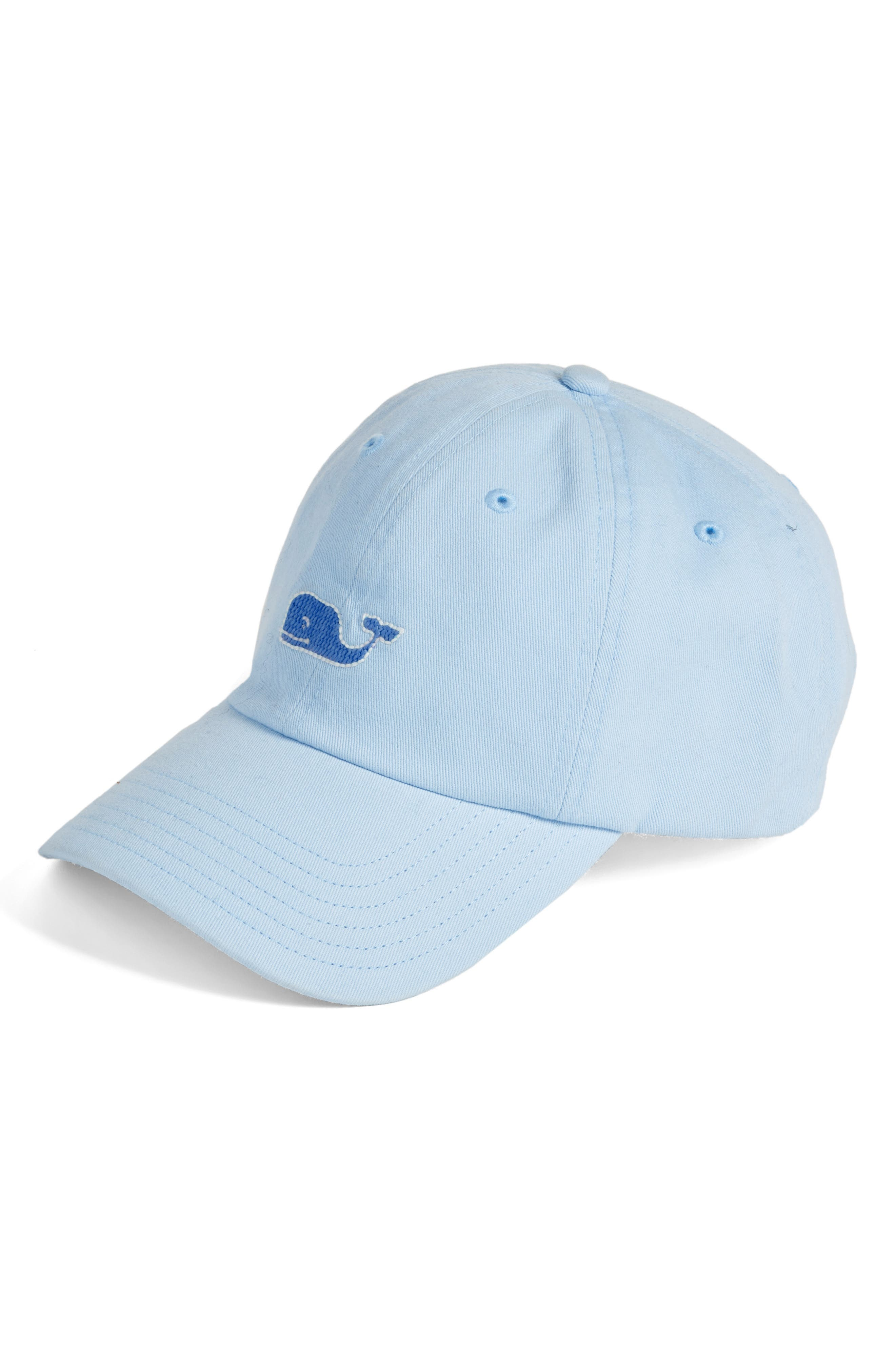 Main Image - Vineyard Vines Needlepoint Whale Baseball Cap