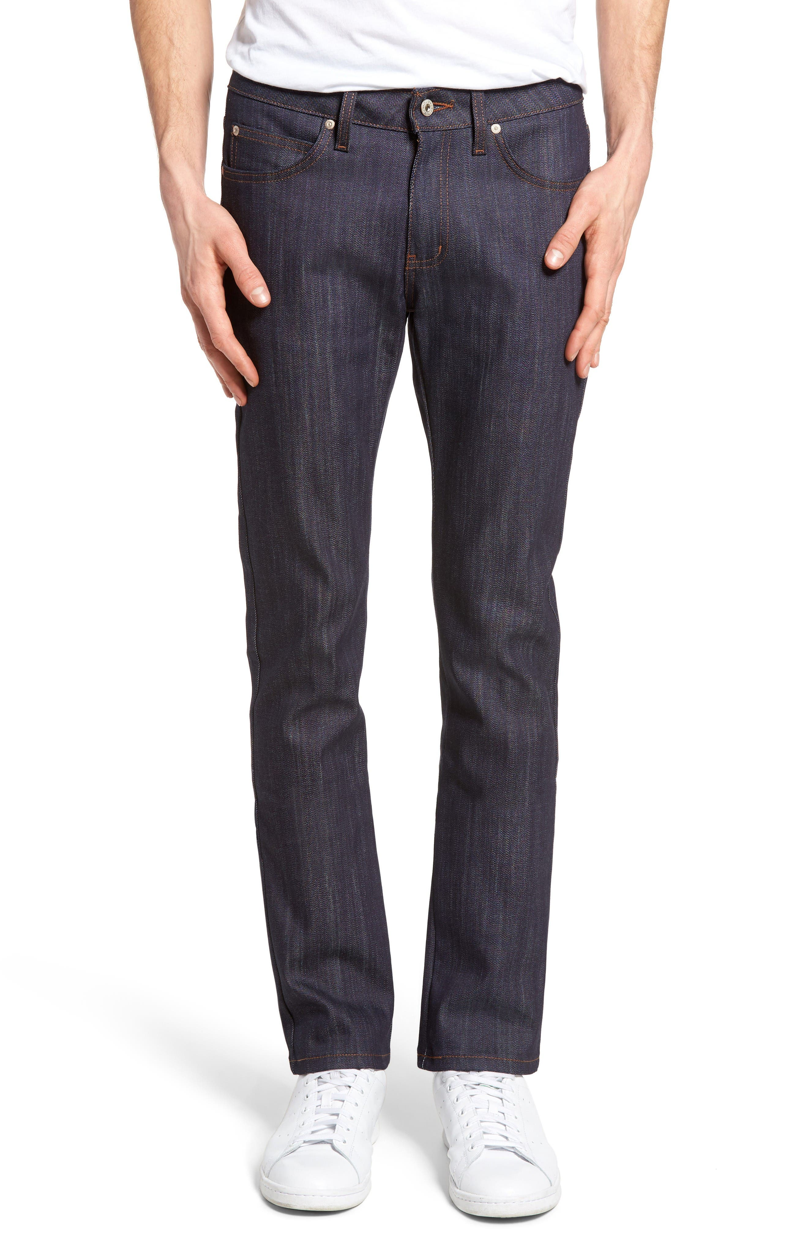 Naked & Famous Denim Skinny Guy Skinny Fit Selvedge Jeans